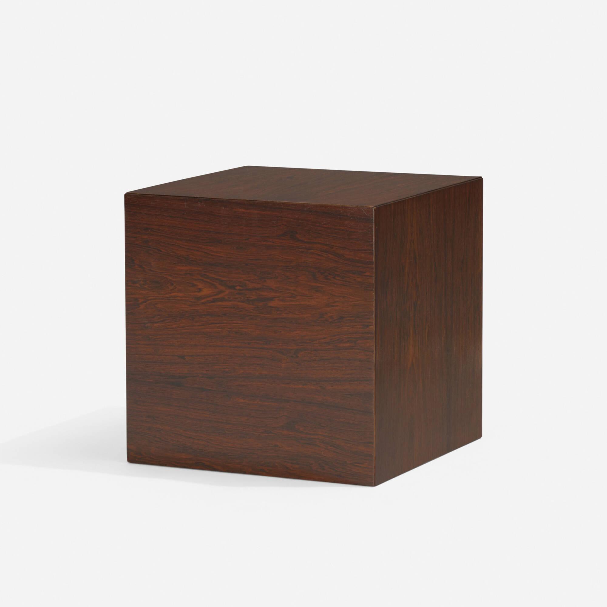 147: Poul Nørreklit / cube nesting tables, set of six (2 of 5)