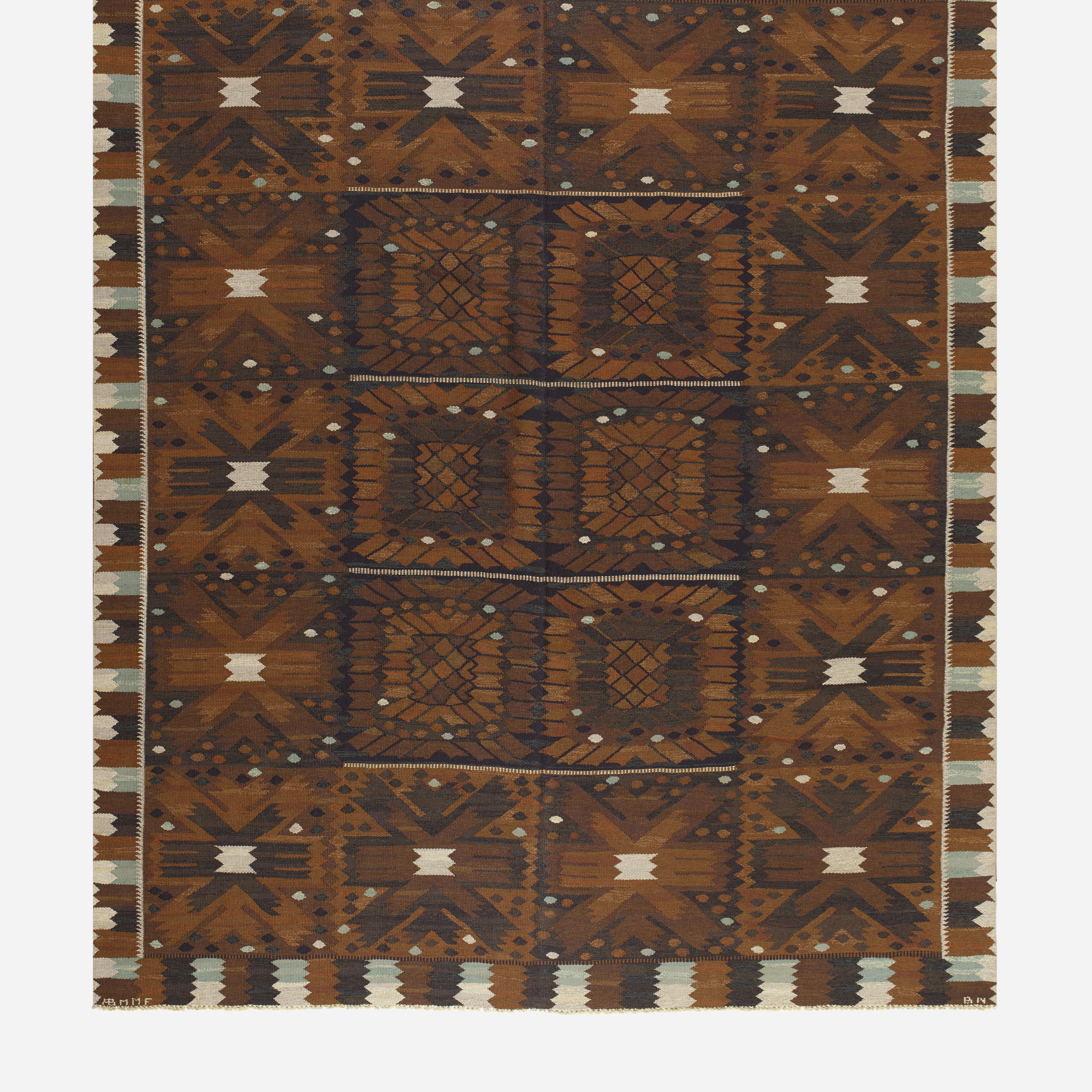 147: Barbro Nilsson / Carnation tapestry weave carpet (2 of 2)