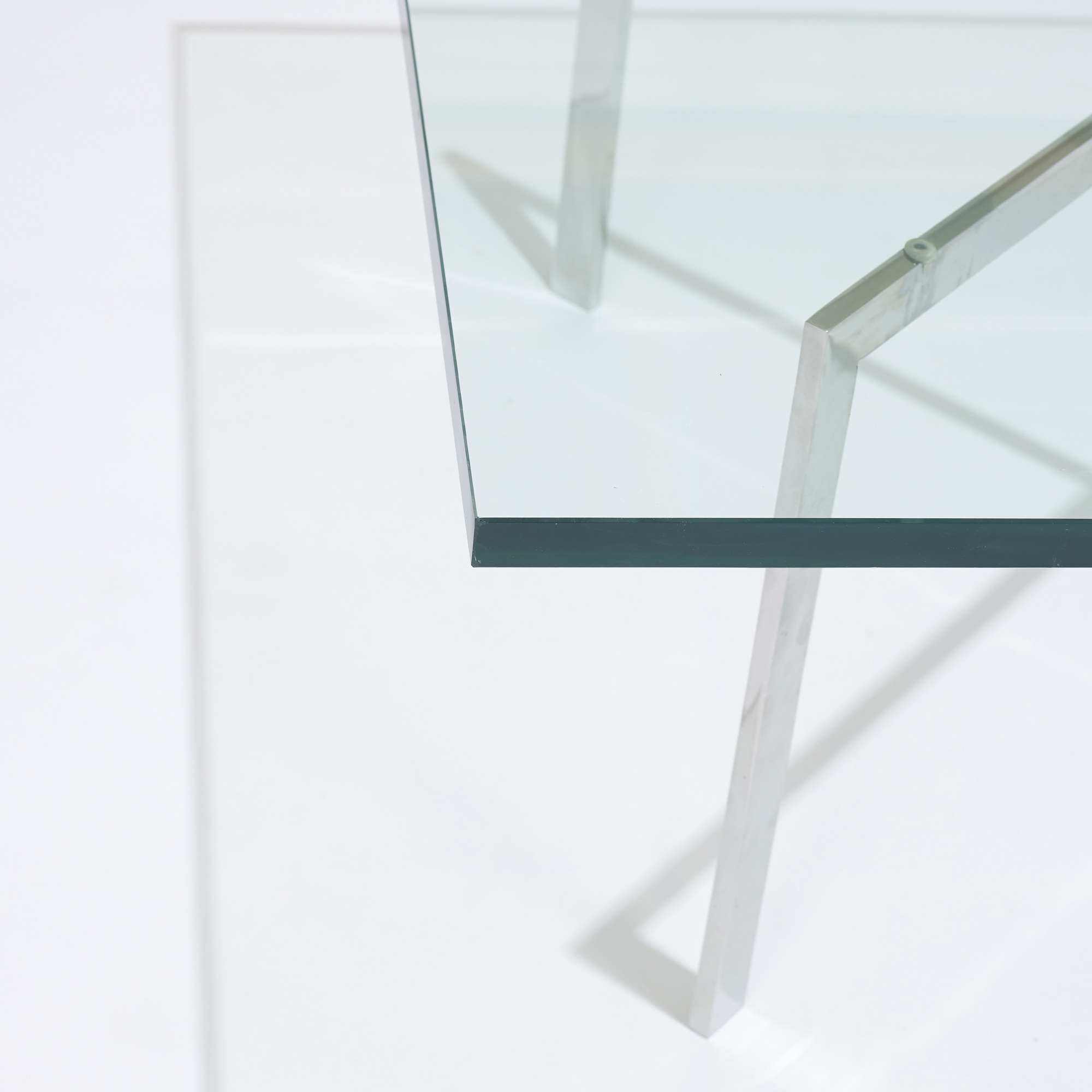 147: Ludwig Mies van der Rohe / custom Barcelona coffee table from 860 Lake Shore Drive, Chicago (3 of 3)