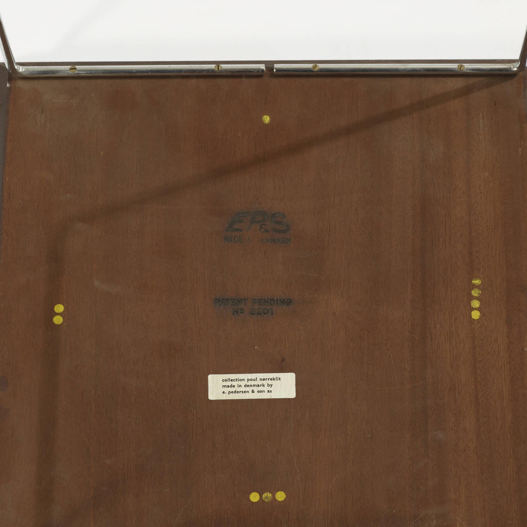 147: Poul Nørreklit / cube nesting tables, set of six (5 of 5)