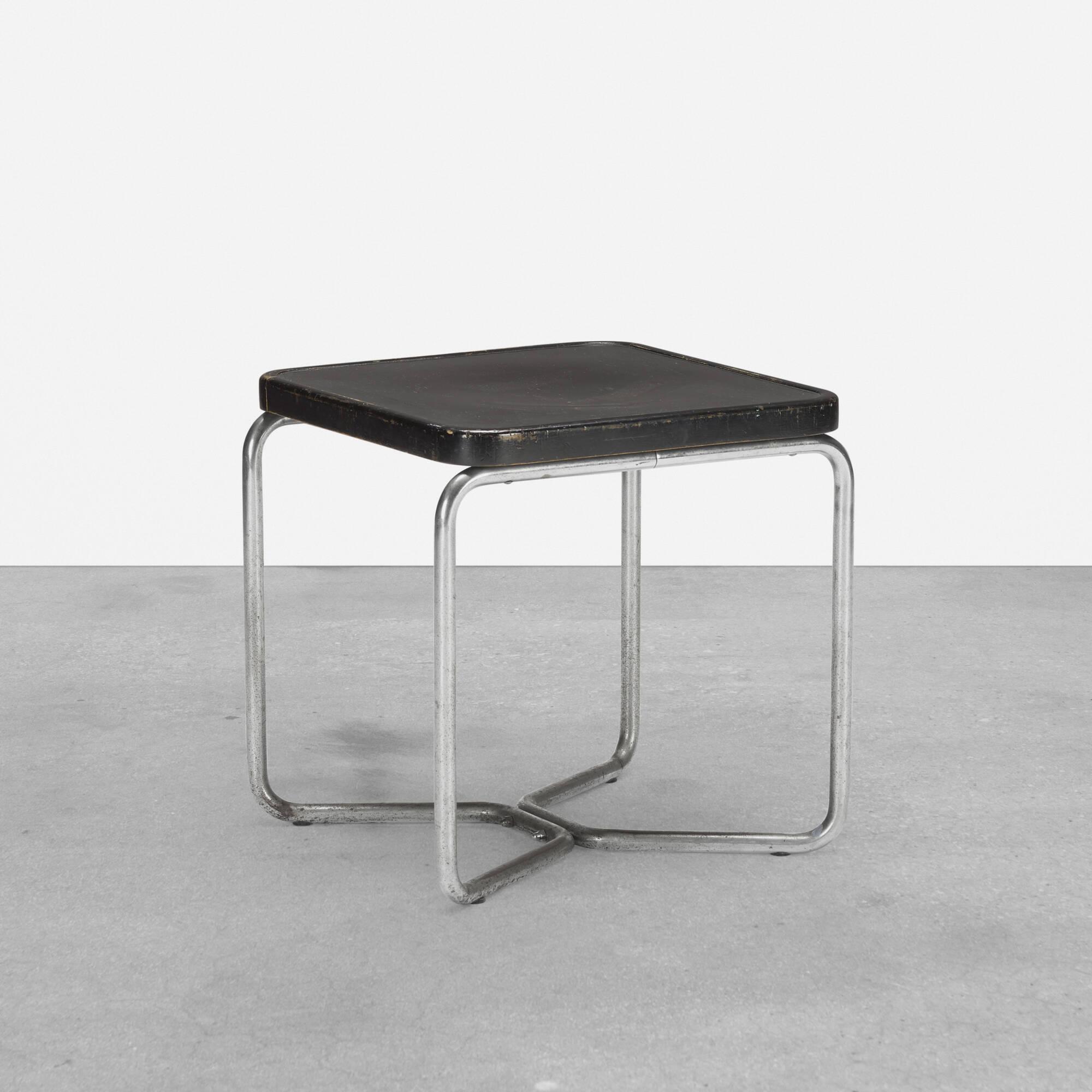 148: Marcel Breuer / stool, model B56 (1 of 2)