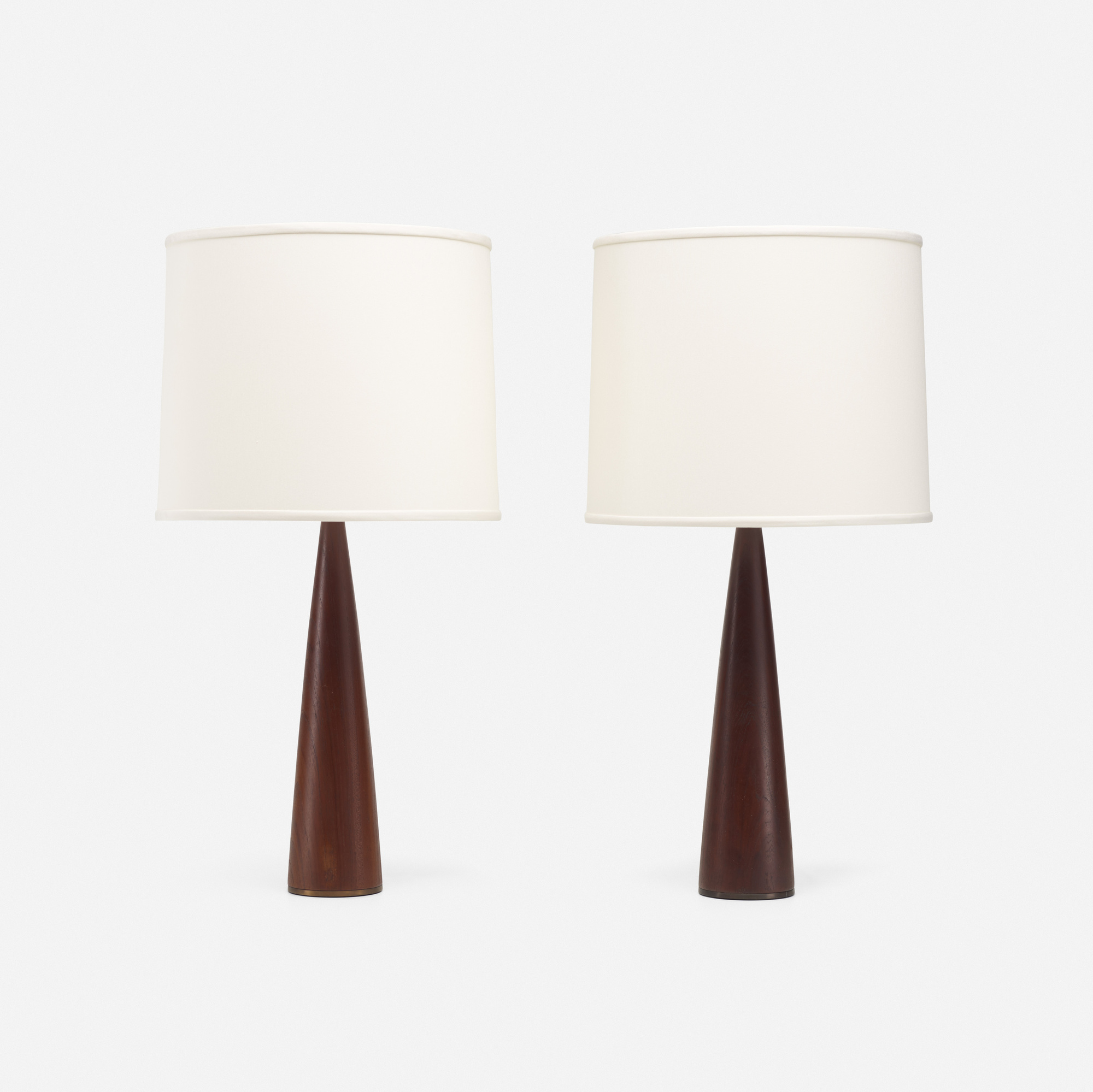 148: Modern / table lamps, pair (1 of 2)