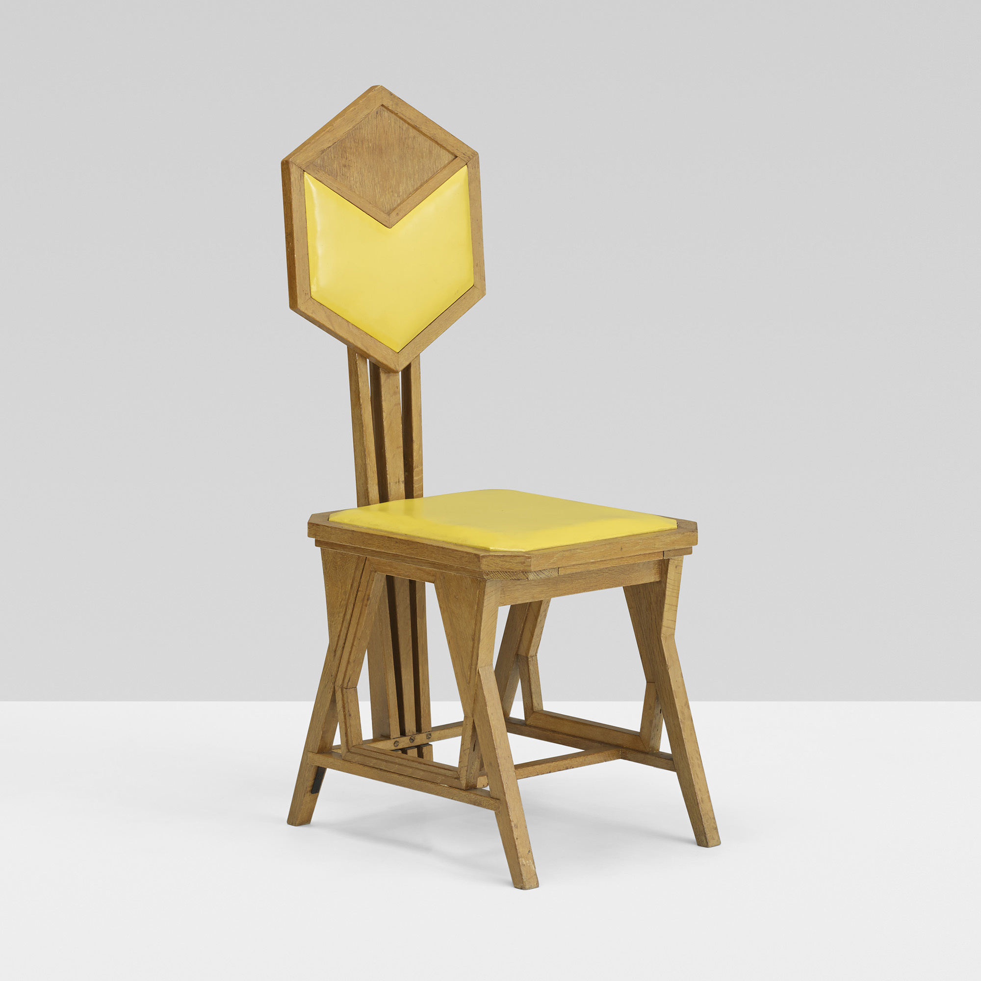 Beau 148: Frank Lloyd Wright / Chair From The Imperial Hotel, Tokyo (1 Of