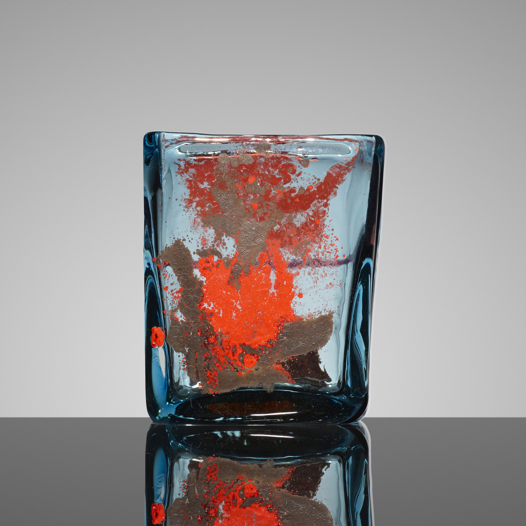 148: Fulvio Bianconi / Rettangolare vase (1 of 3)