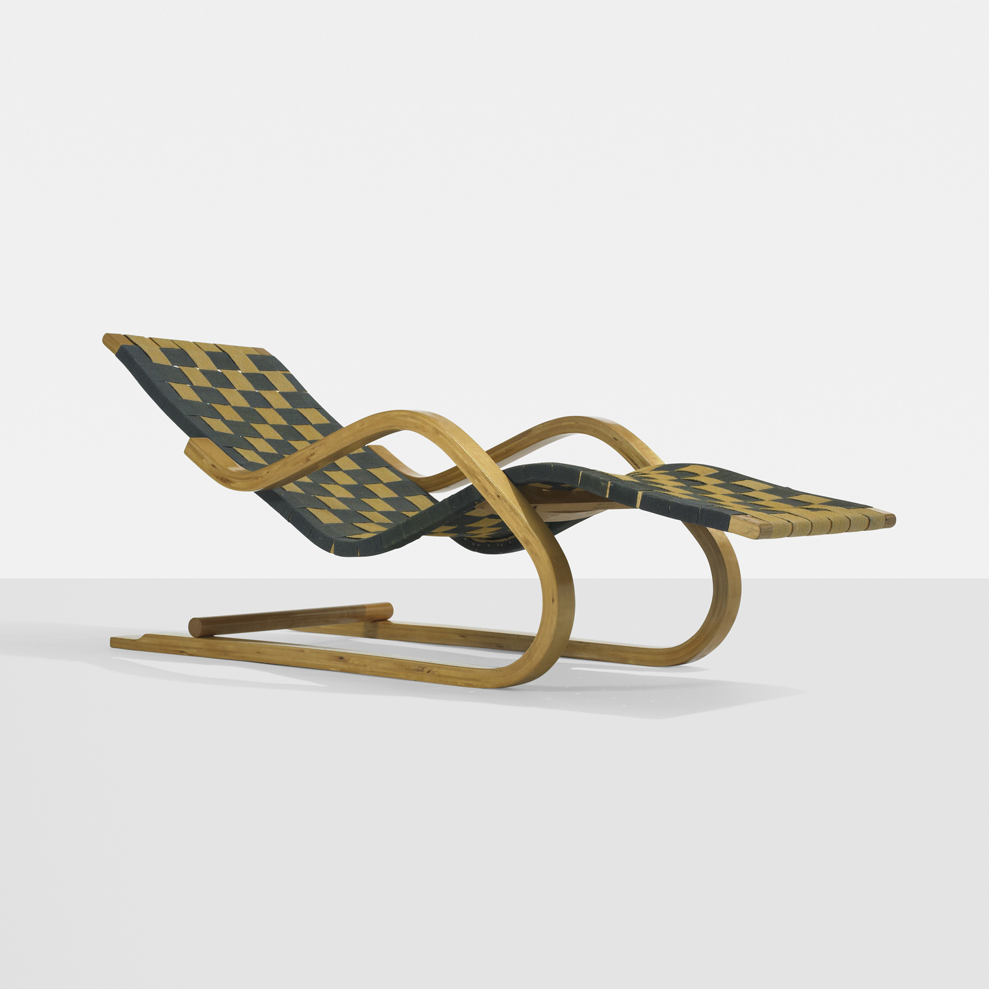 148 alvar aalto cantilevered chaise model 39w for Chaise modele