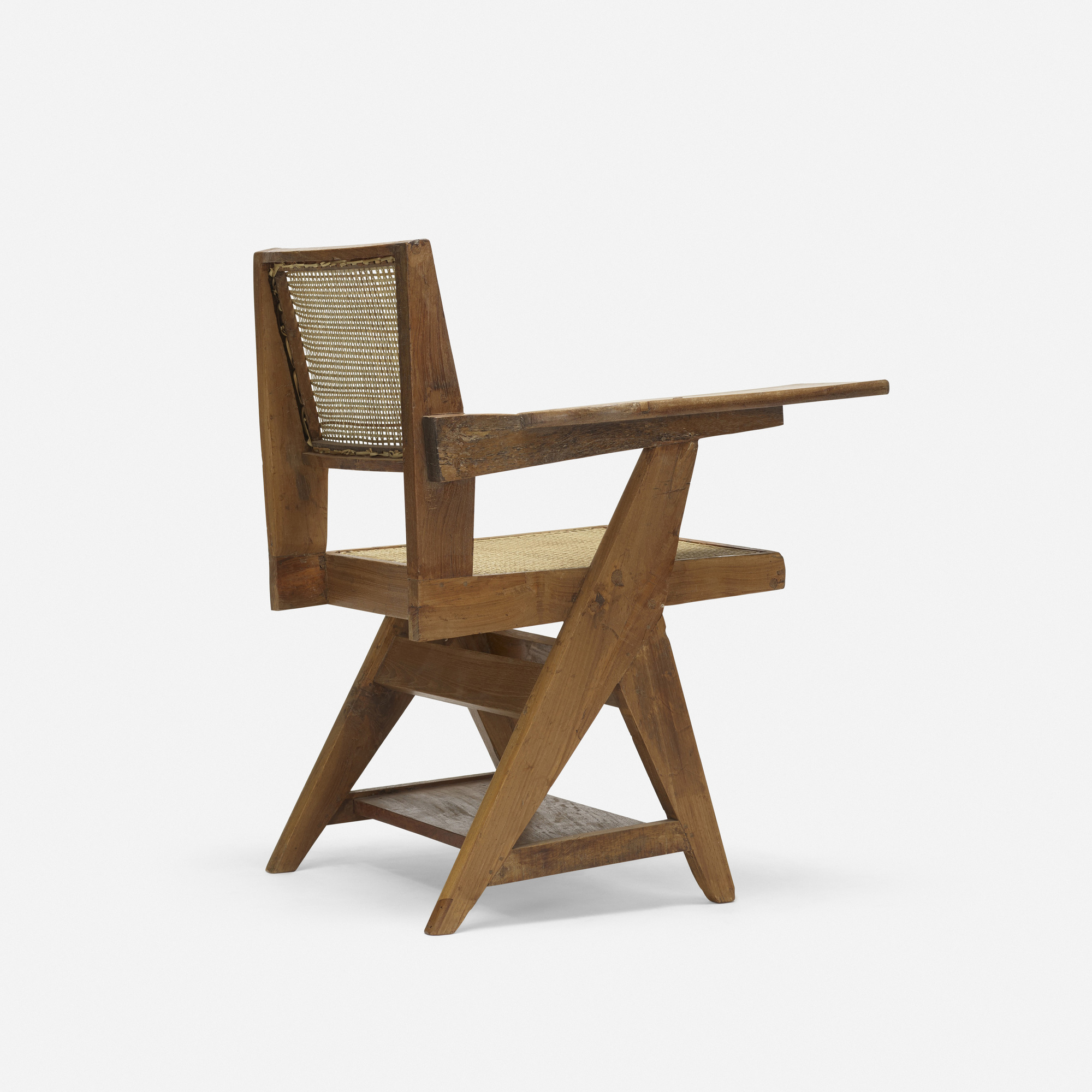 ... 148: Pierre Jeanneret / Writing Chair From Chandigarh (2 Of 3)