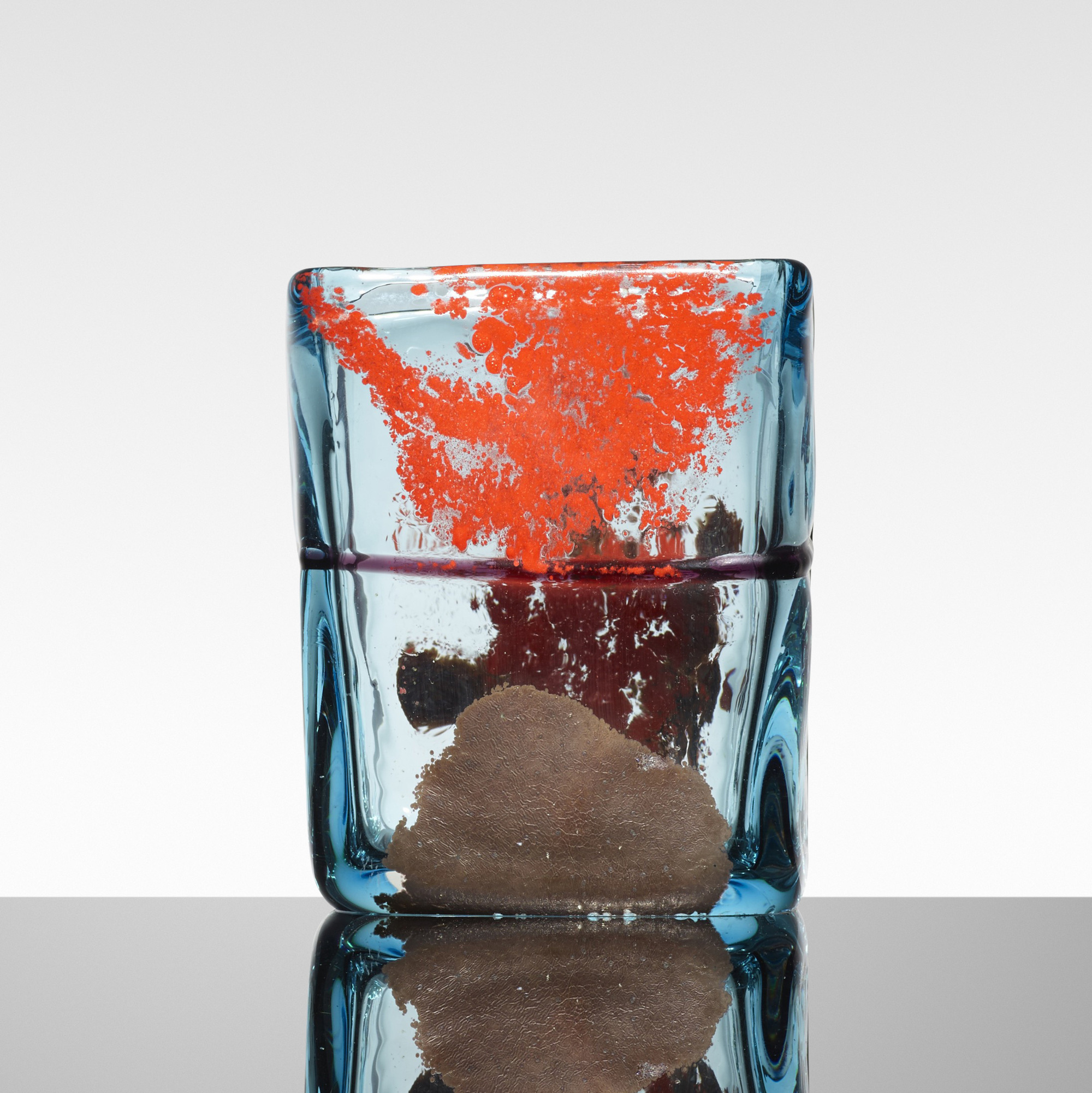 148: Fulvio Bianconi / Rettangolare vase (2 of 3)