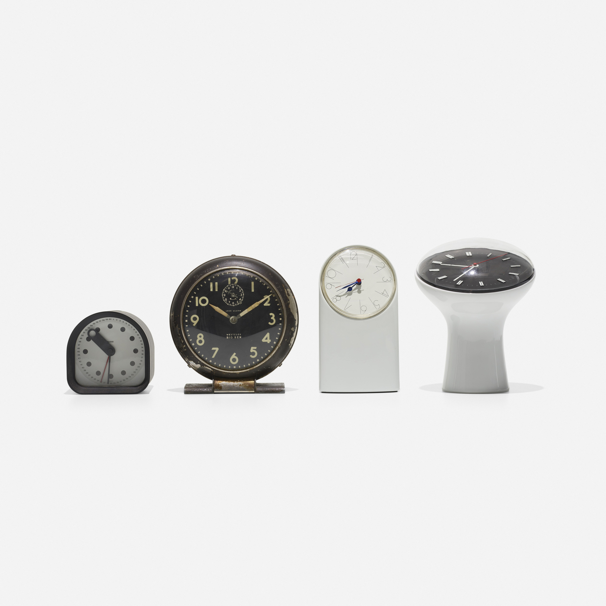 148: Various Artists / collection of four table clocks (2 of 2)