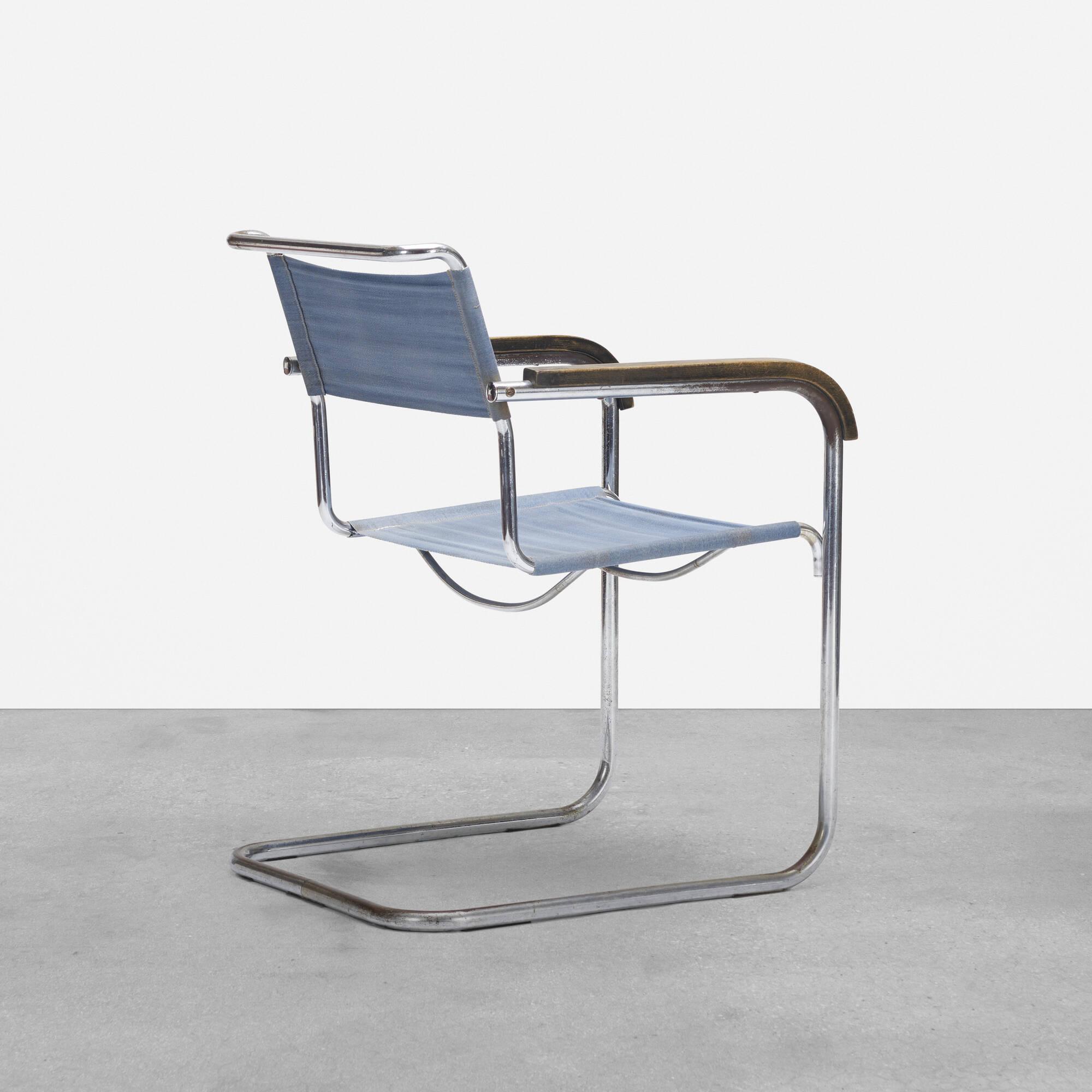 149: Marcel Breuer / armchair, model B32 (1 of 4)