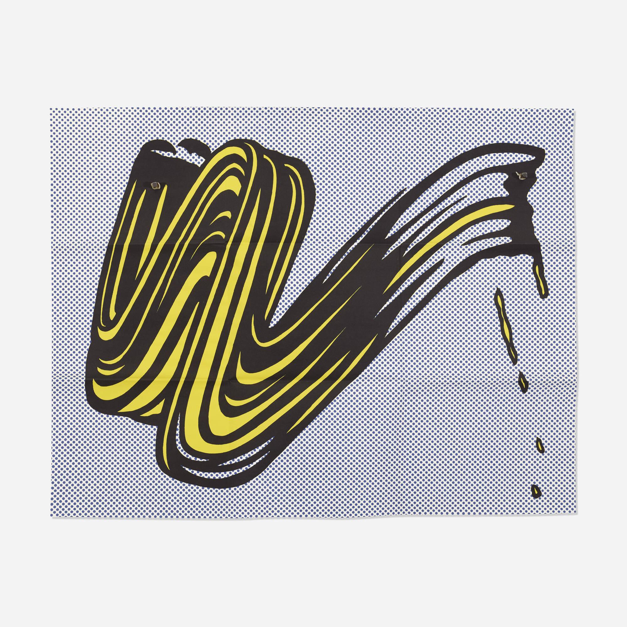 149: Roy Lichtenstein / Brushstroke (Castelli mailer) (1 of 1)