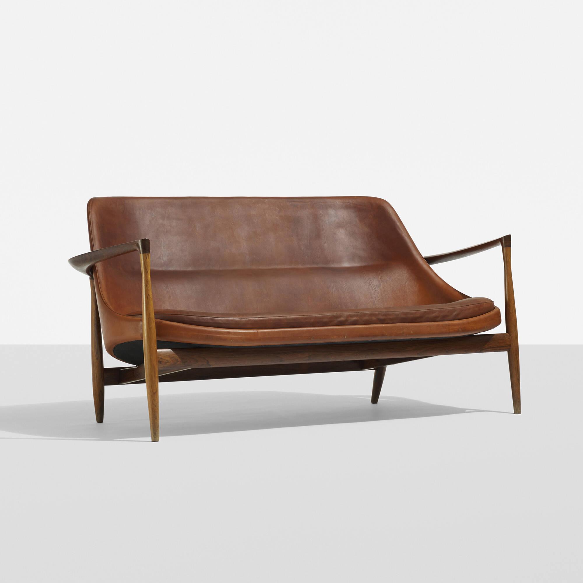 149 ib kofod larsen rare elizabeth sofa for Scandinavian design sofa bed
