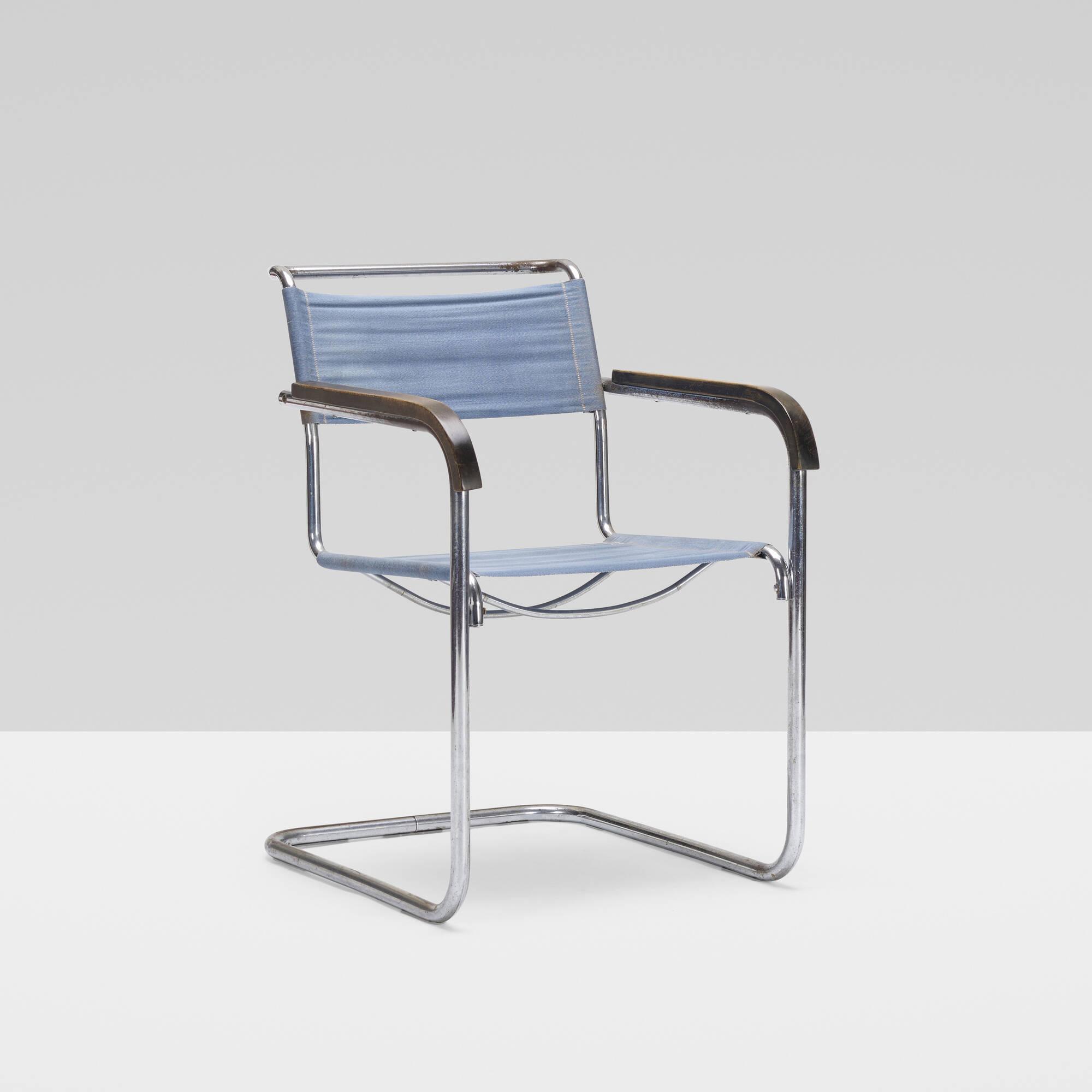 149: Marcel Breuer / armchair, model B32 (2 of 4)