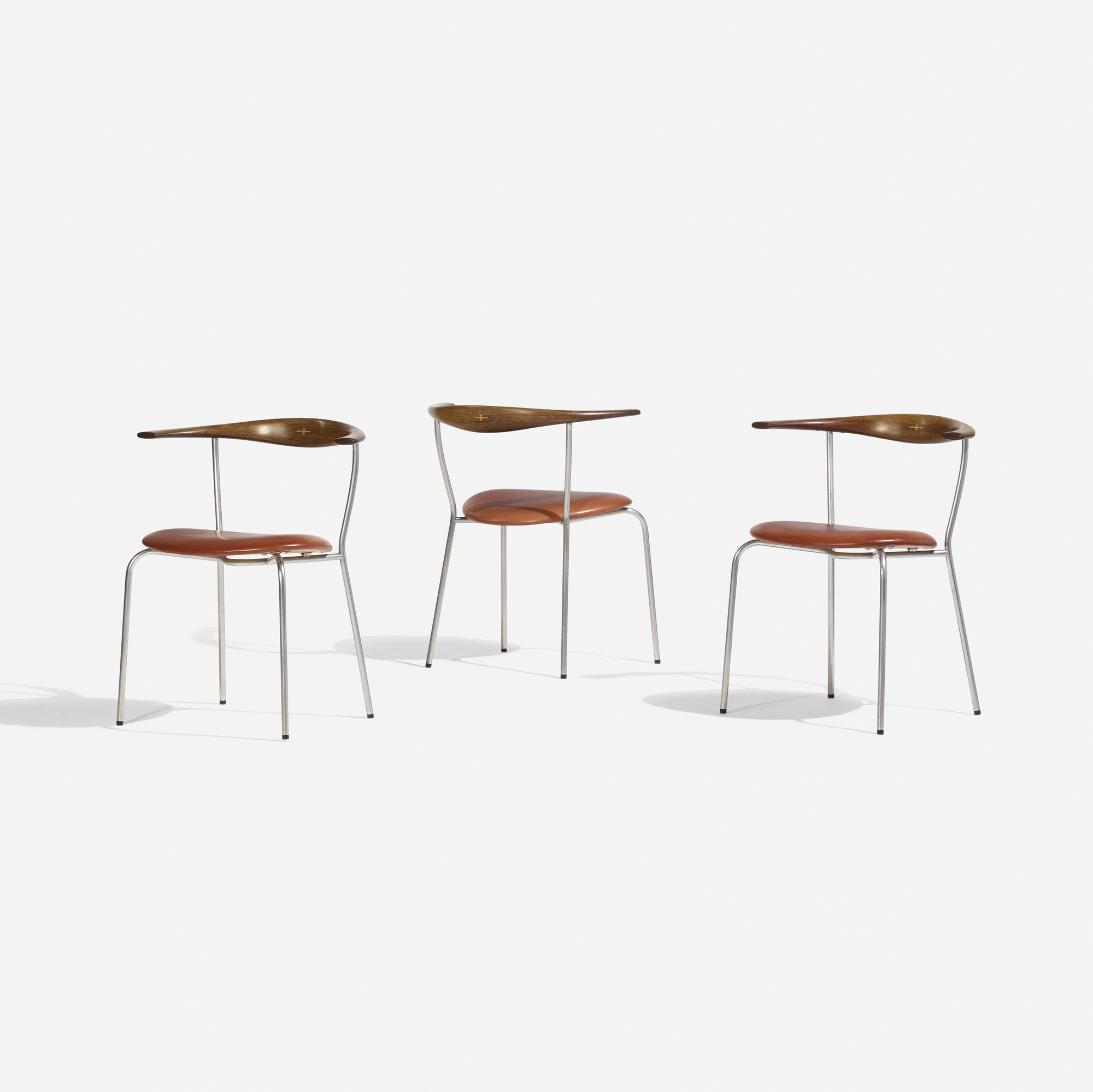 149: Hans J. Wegner / dining chairs model JH701, set of six (2 of 4)