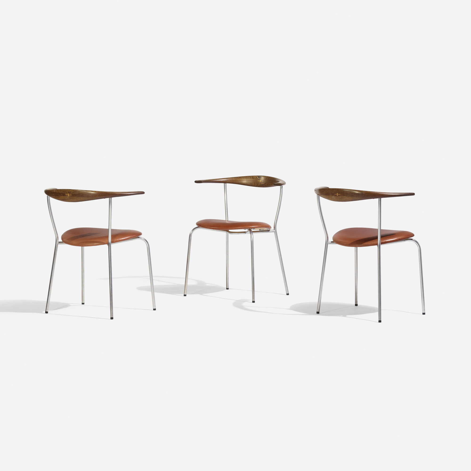 149: Hans J. Wegner / dining chairs model JH701, set of six (3 of 4)