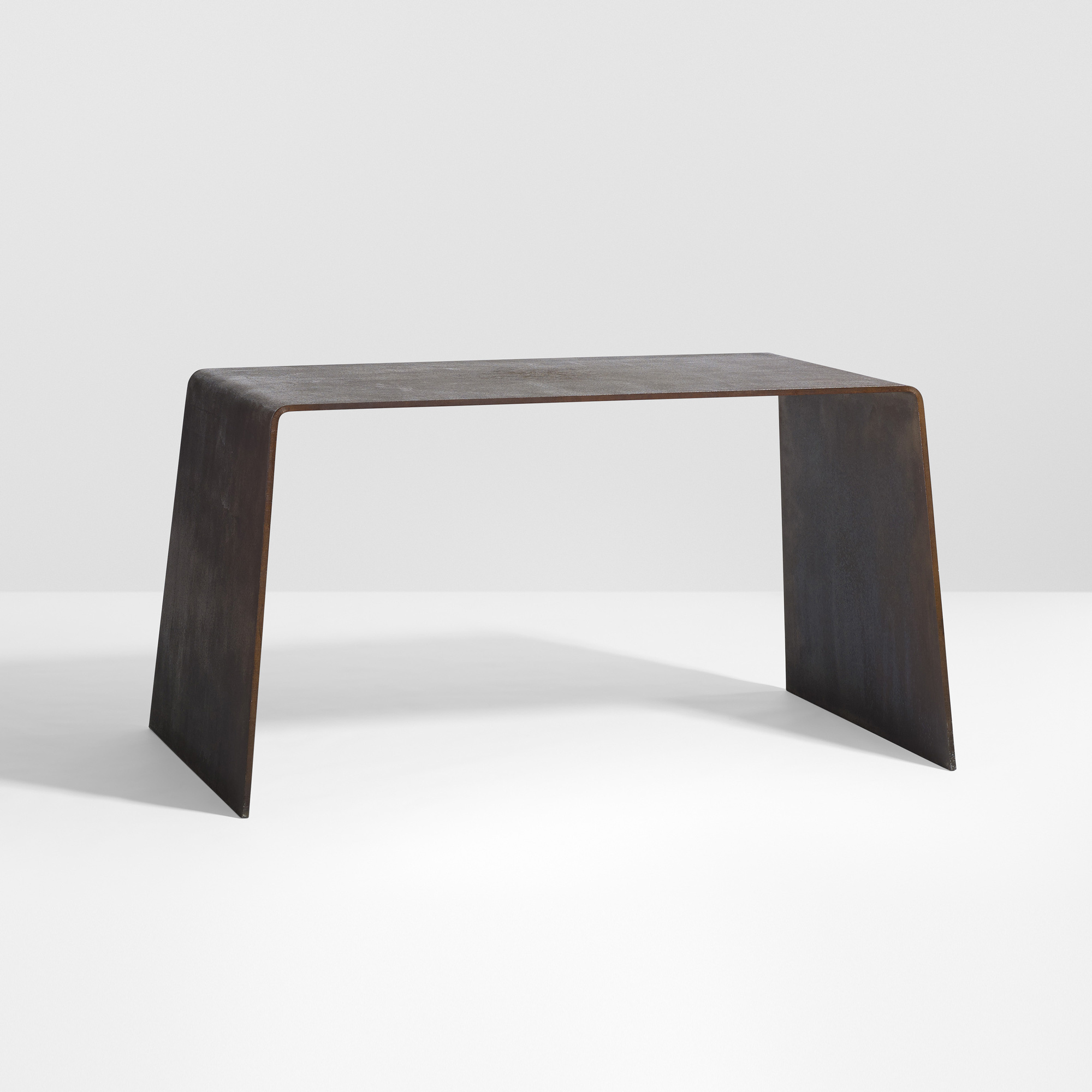 Marvelous 14: Scott Burton / Prototype Steel Furniture Table (1 Of 4)