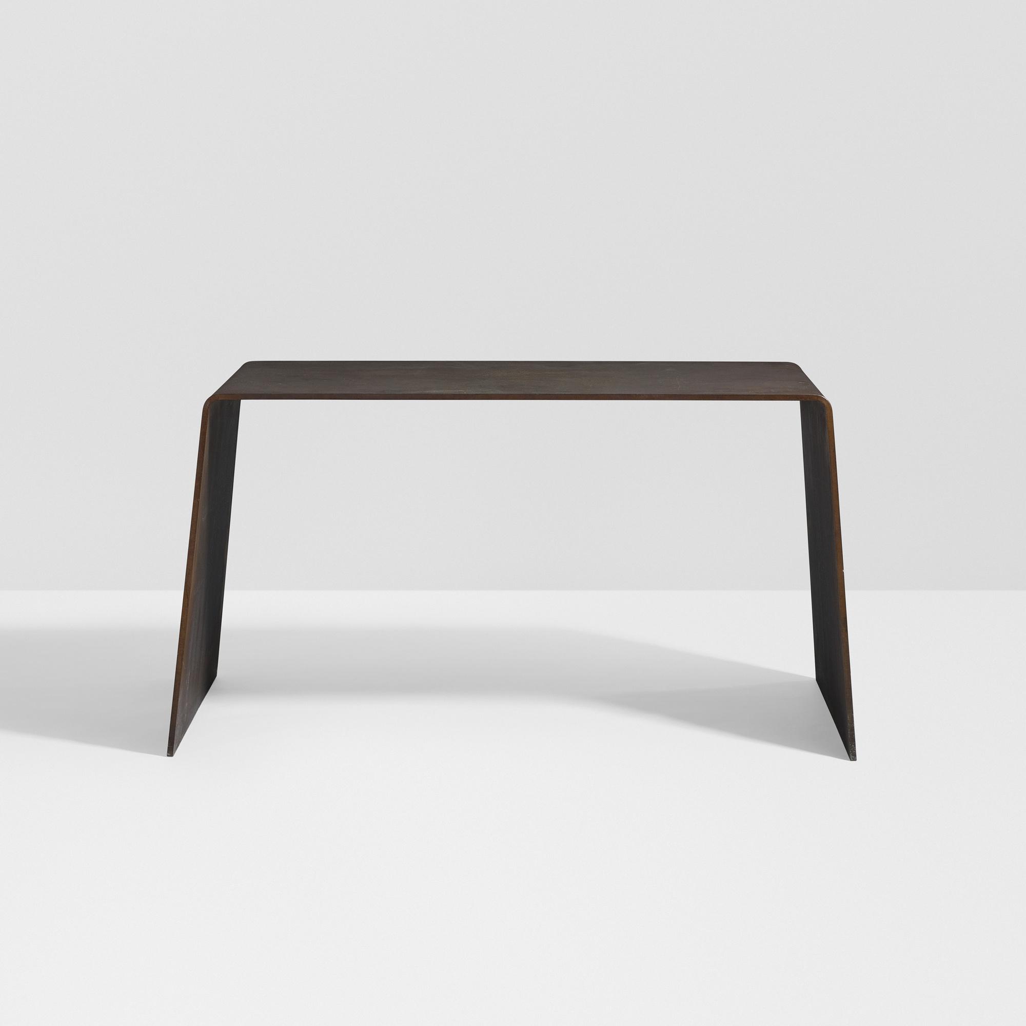 ... 14: Scott Burton / Prototype Steel Furniture Table (3 Of 4)