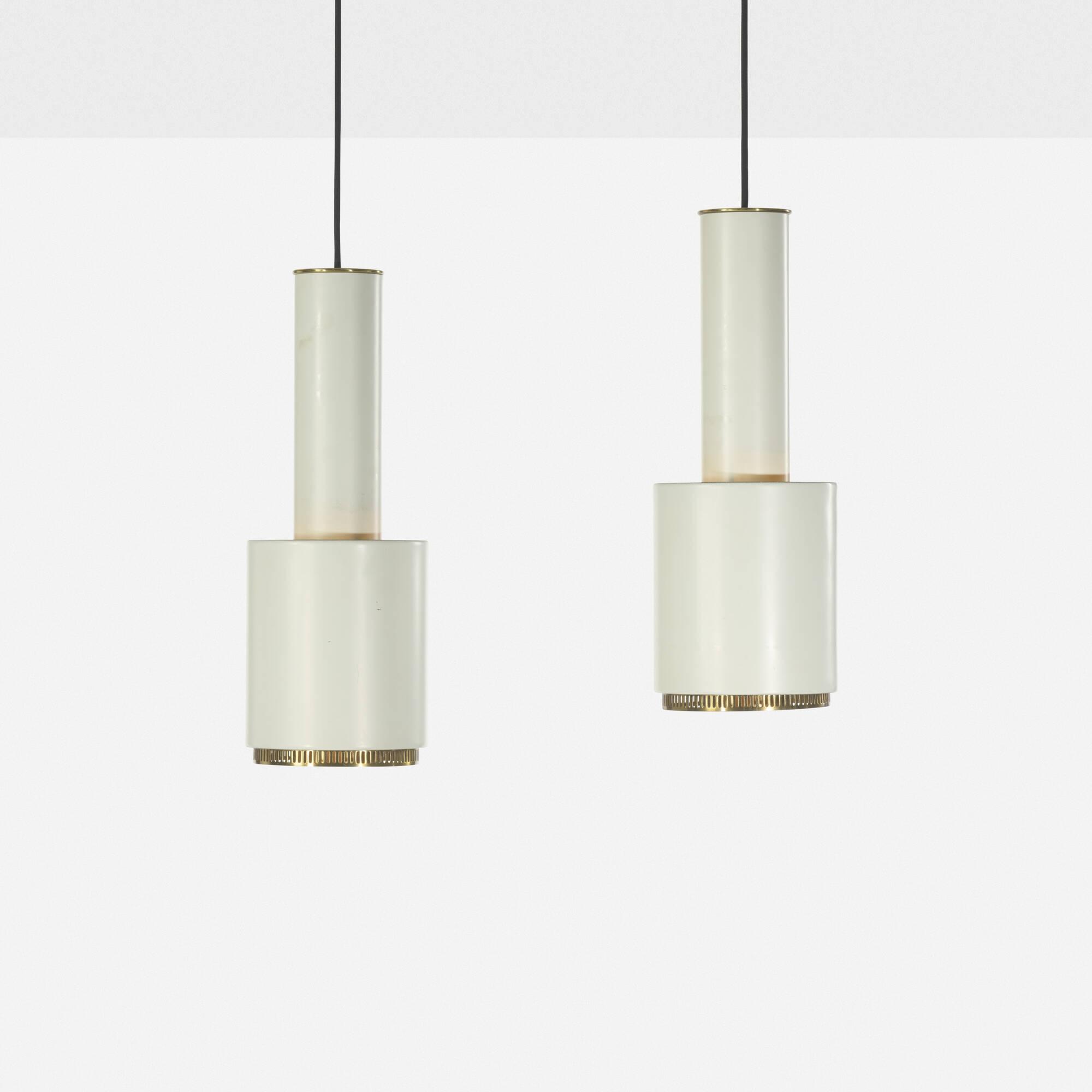 150: Alvar Aalto / pendant lamps, pair (1 of 2)