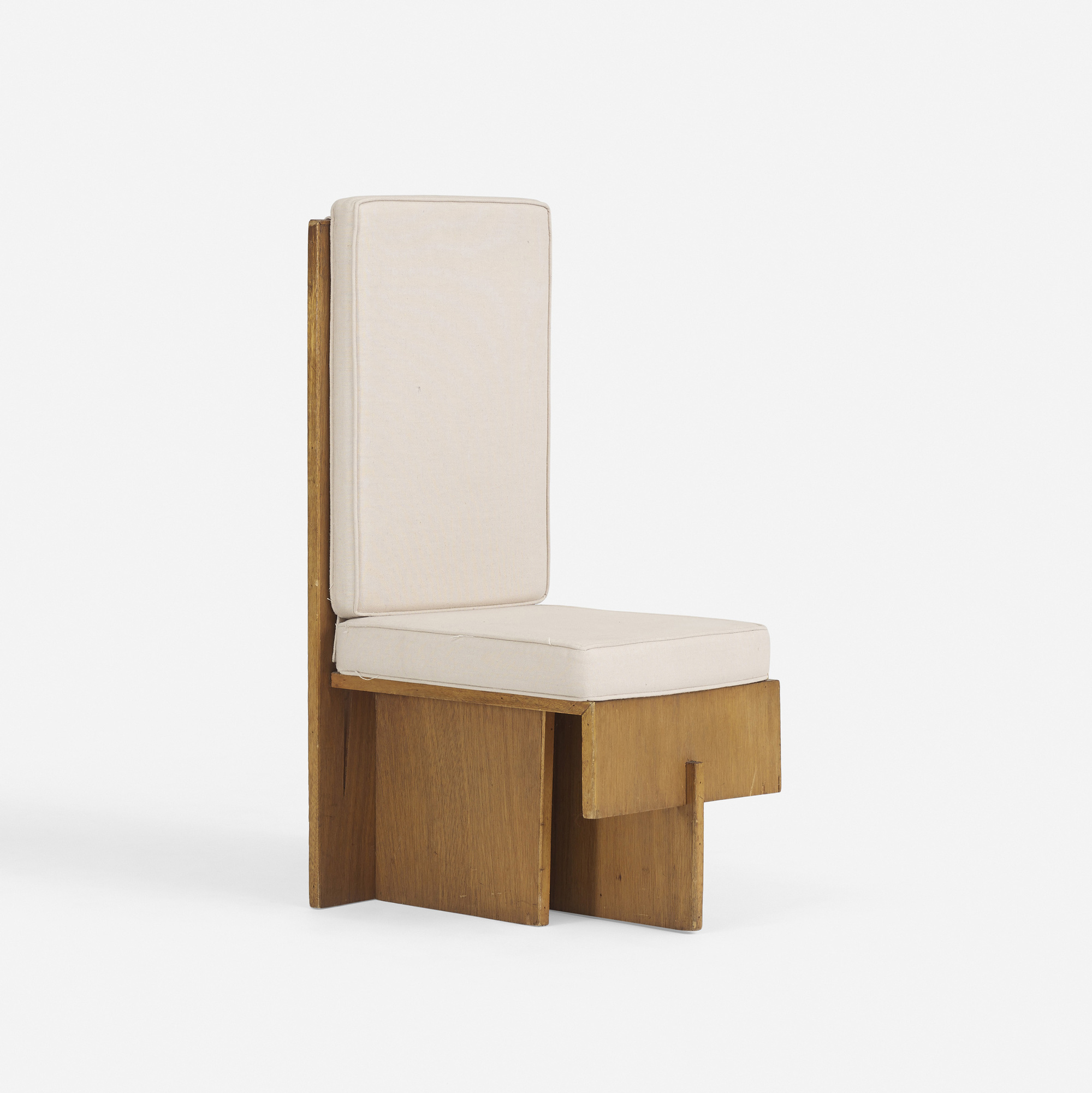 150 Frank Lloyd Wright Chair From The Paul J And Ida Trier House