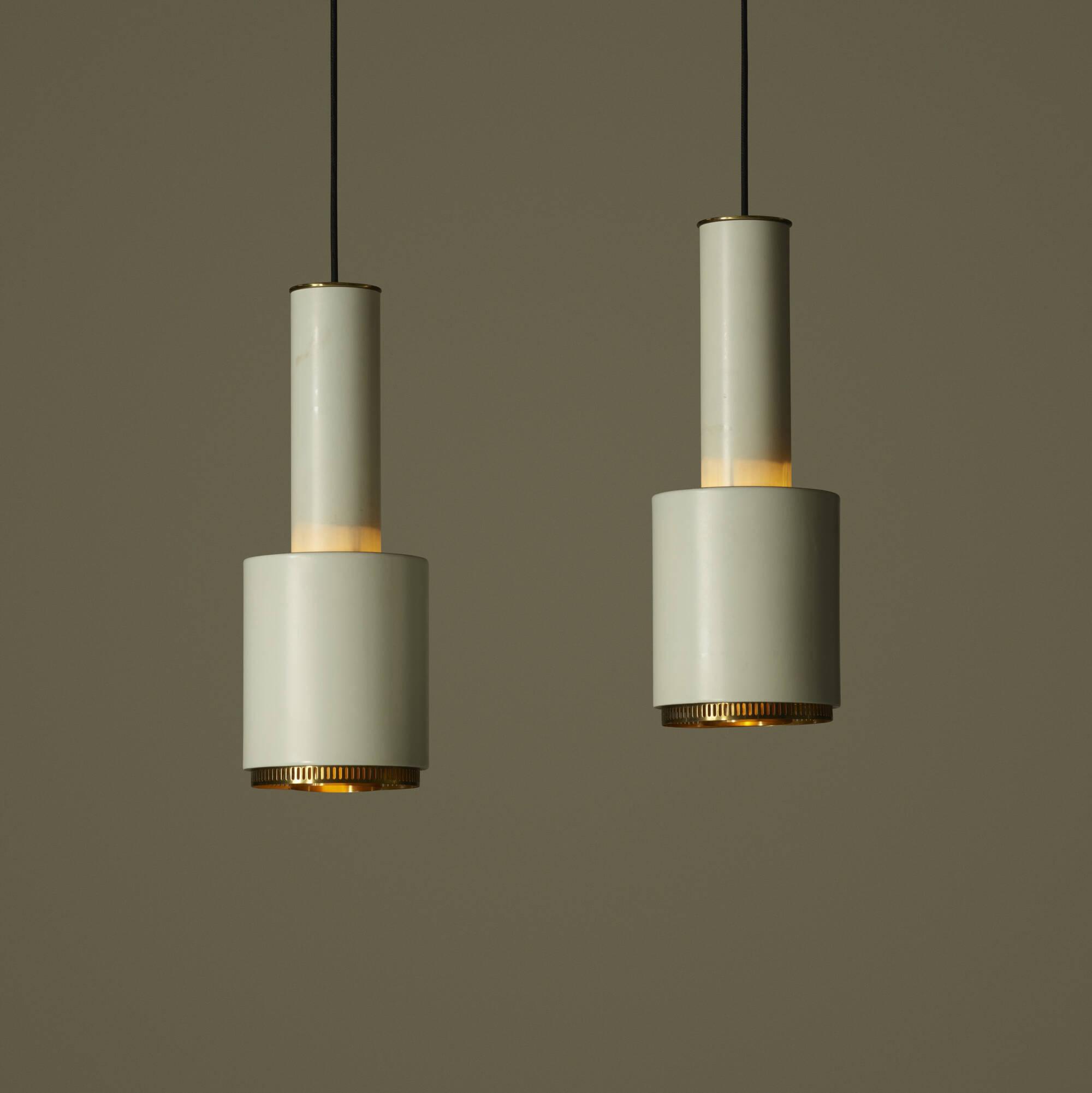 150: Alvar Aalto / pendant lamps, pair (2 of 2)