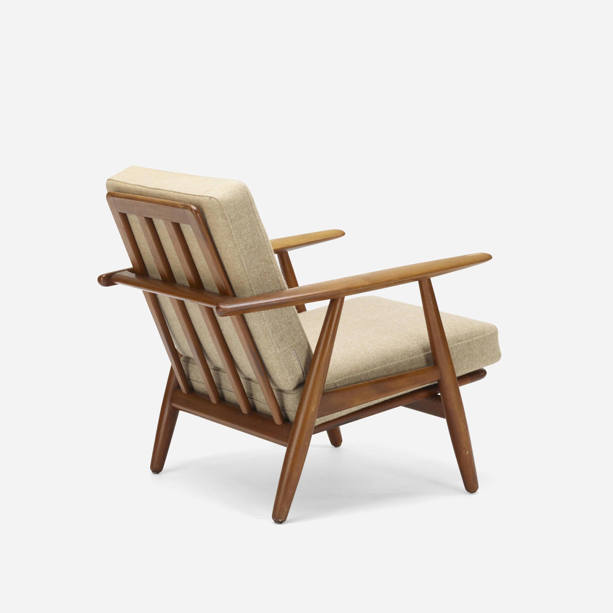 Exceptionnel 151: Hans J. Wegner / Lounge Chair, Model GE240 (1 Of 2