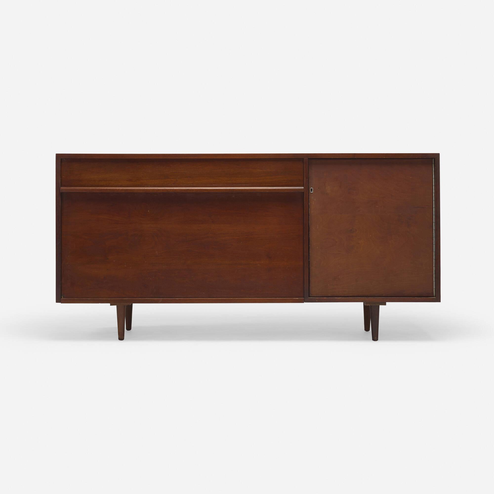 151: Milo Baughman / cabinet, model 1632 (1 of 2)