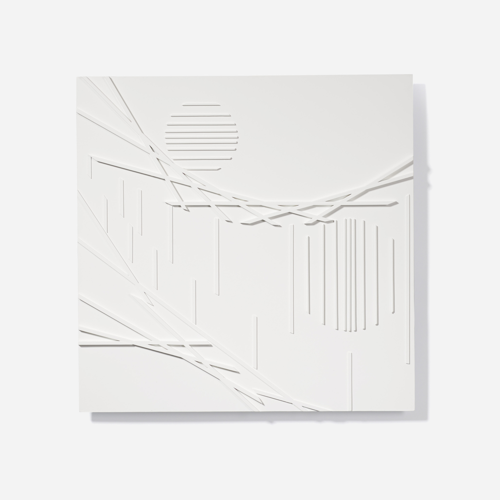 151: David Barr / Structurist Relief No. 360 (1 of 3)