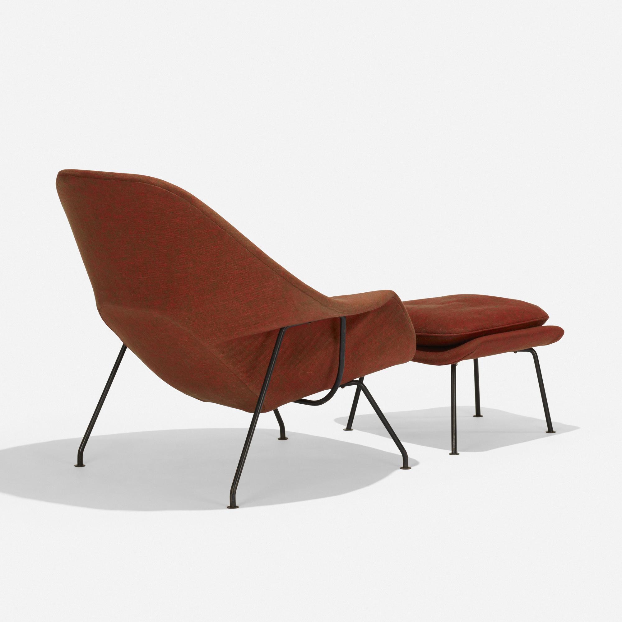 151 Eero Saarinen Womb Chair And Ottoman American Design 21