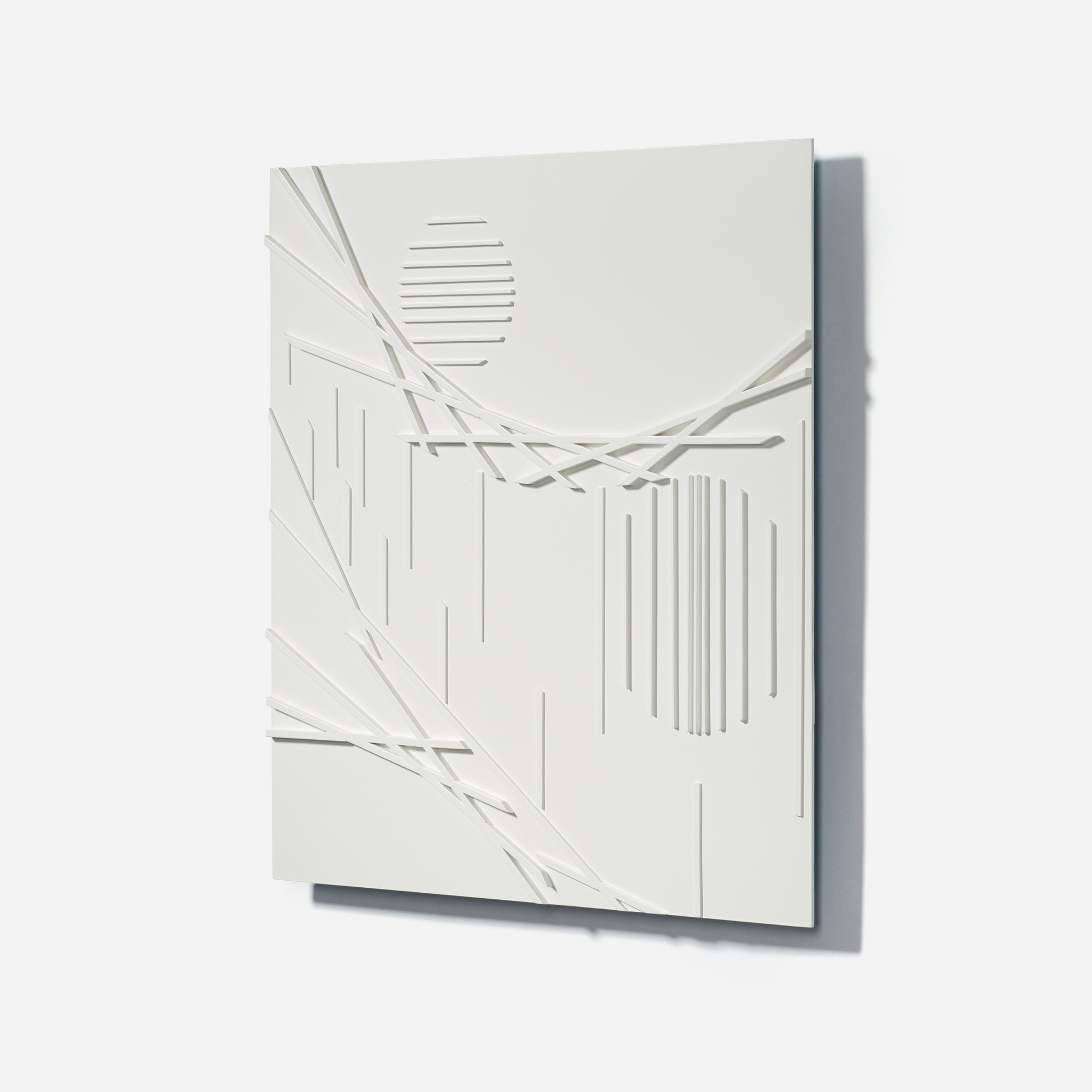 151: David Barr / Structurist Relief No. 360 (2 of 3)