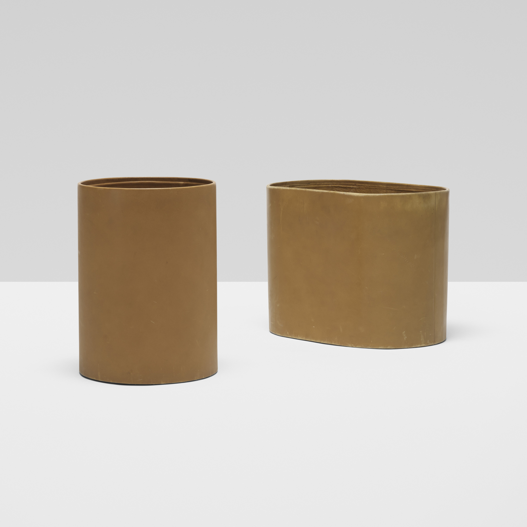 152: Don Powell and Robert Kleinschmidt / pair of wastepaper baskets from 860 Lake Shore Drive, Chicago (1 of 3)