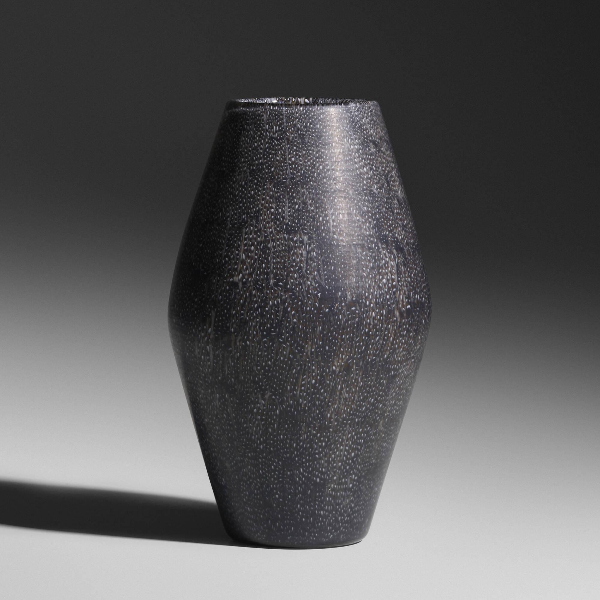 152: Paolo Venini / a Murrine vase, model 4704 (1 of 3)