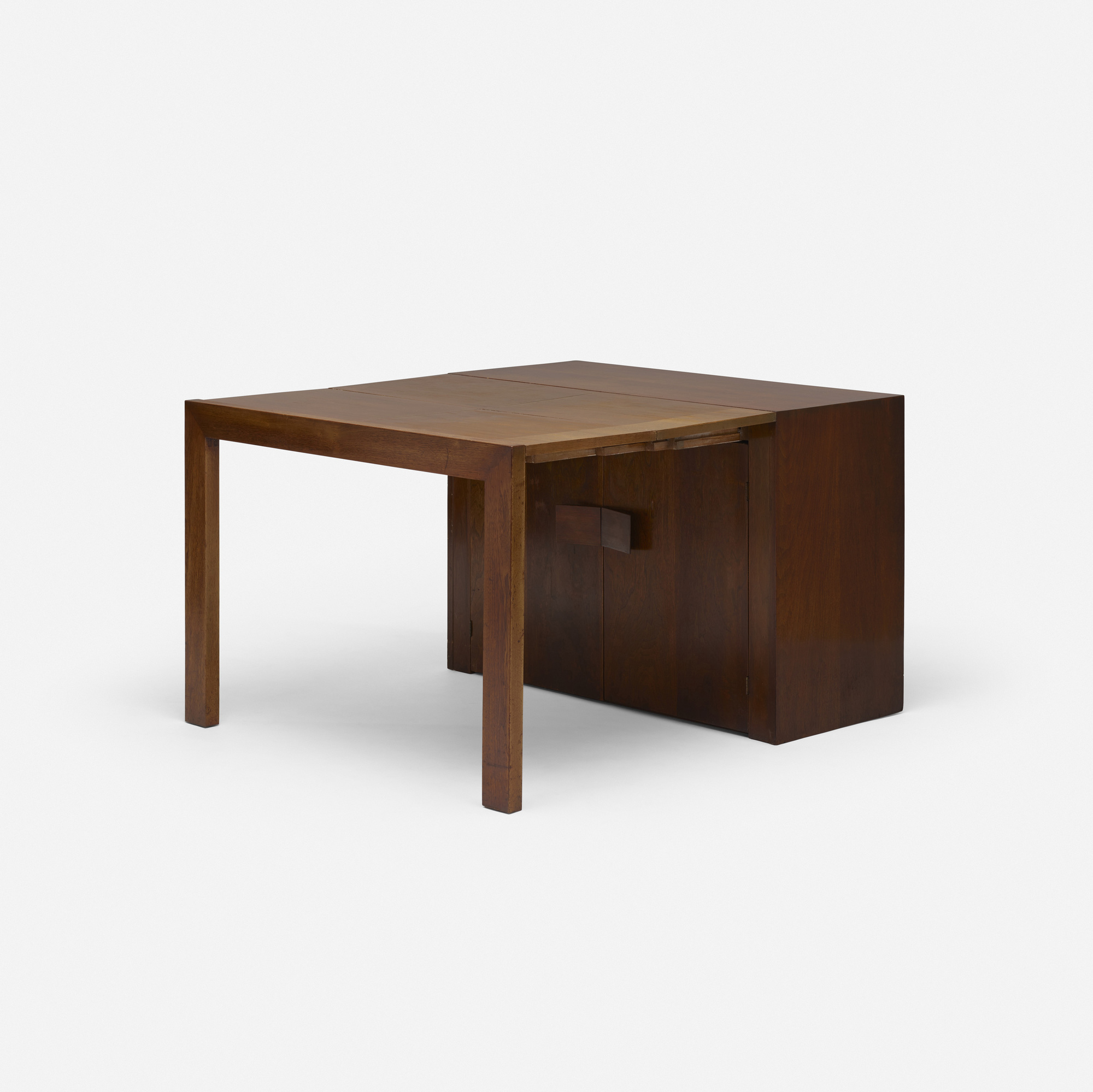152: Milo Baughman / extension dining table, model 104 (1 of 3)