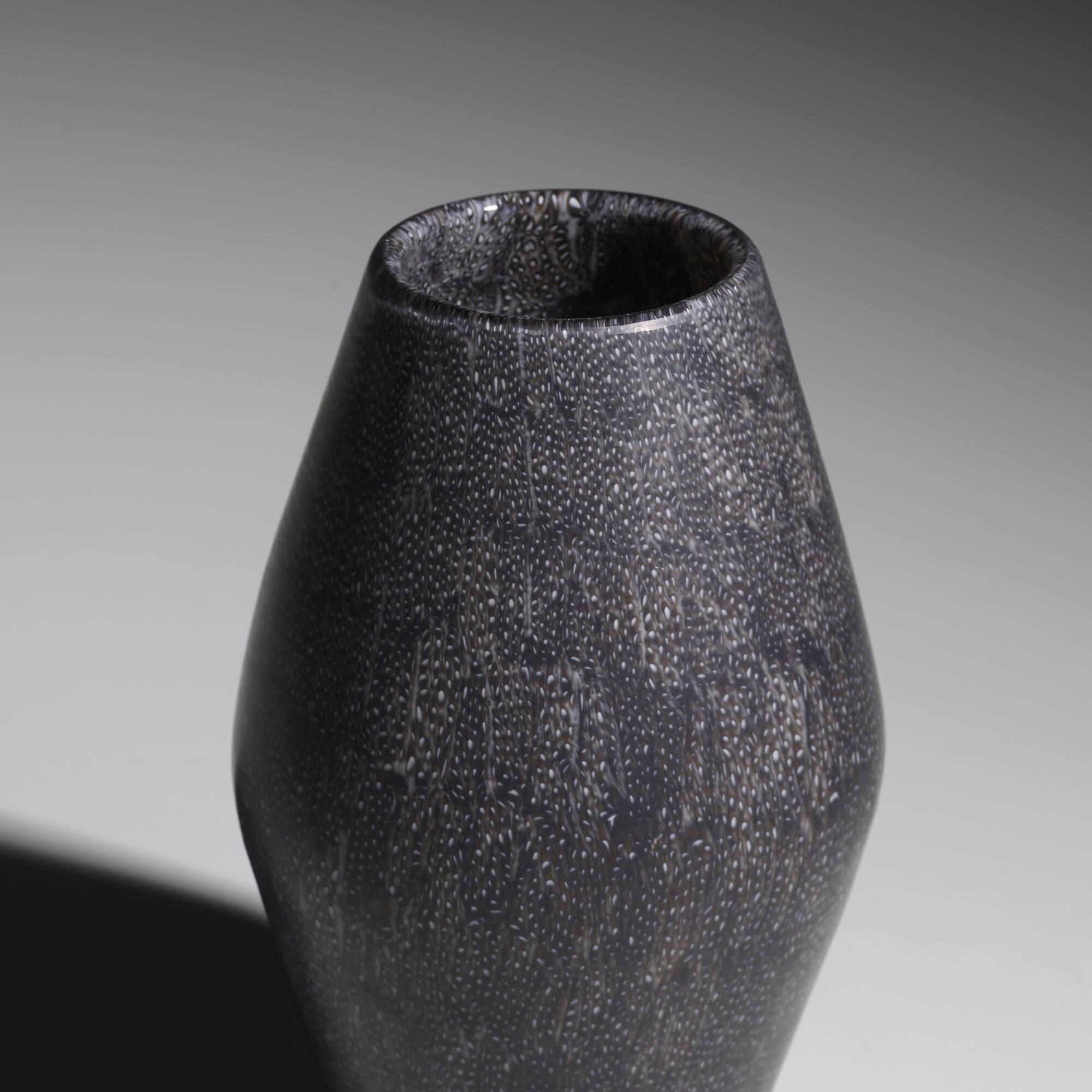 152: Paolo Venini / a Murrine vase, model 4704 (2 of 3)