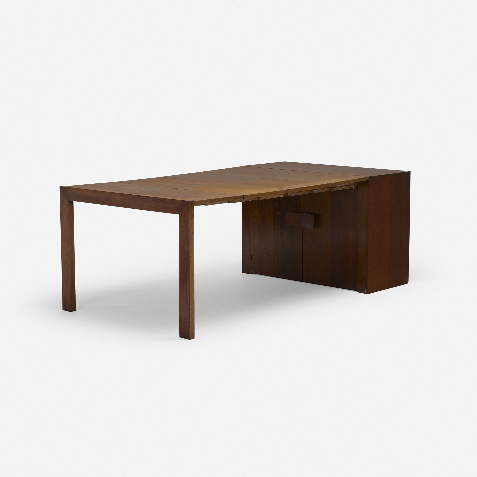 152: Milo Baughman / extension dining table, model 104 (2 of 3)