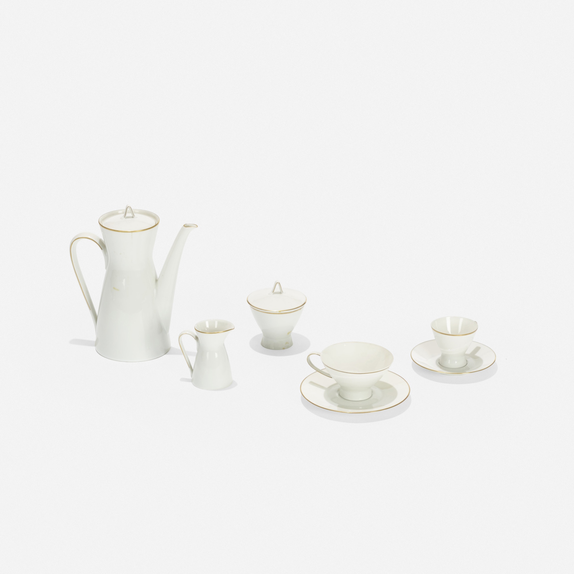152: Raymond Loewy and Raymond Latham / coffee service (3 of 3)