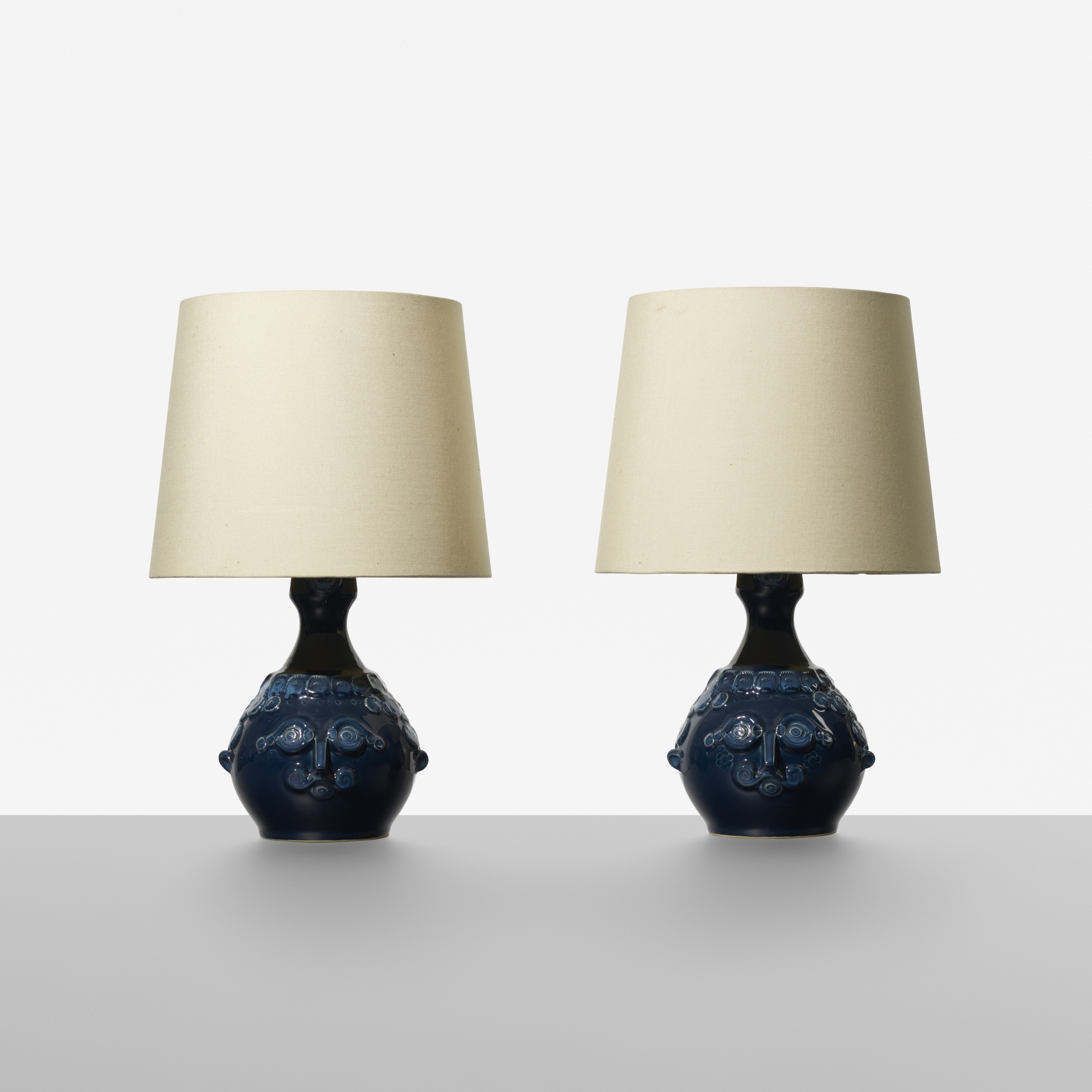 153: Bjørn Wiinblad / table lamps, pair (1 of 1)