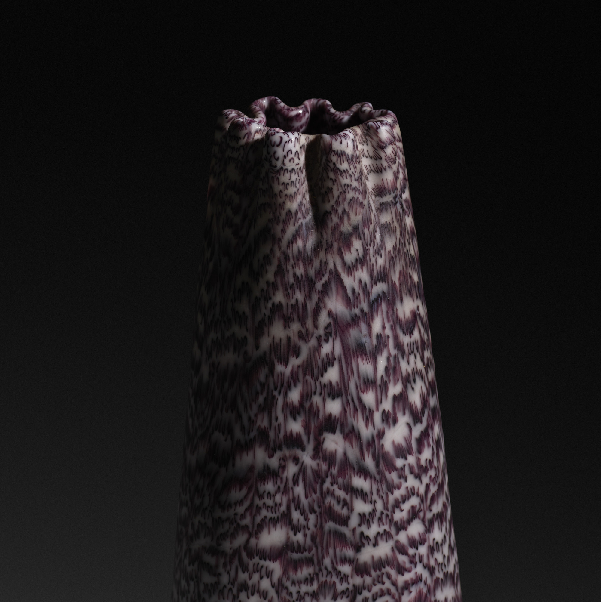 153: Paolo Venini / a Murrine vase, model 3670 (2 of 3)