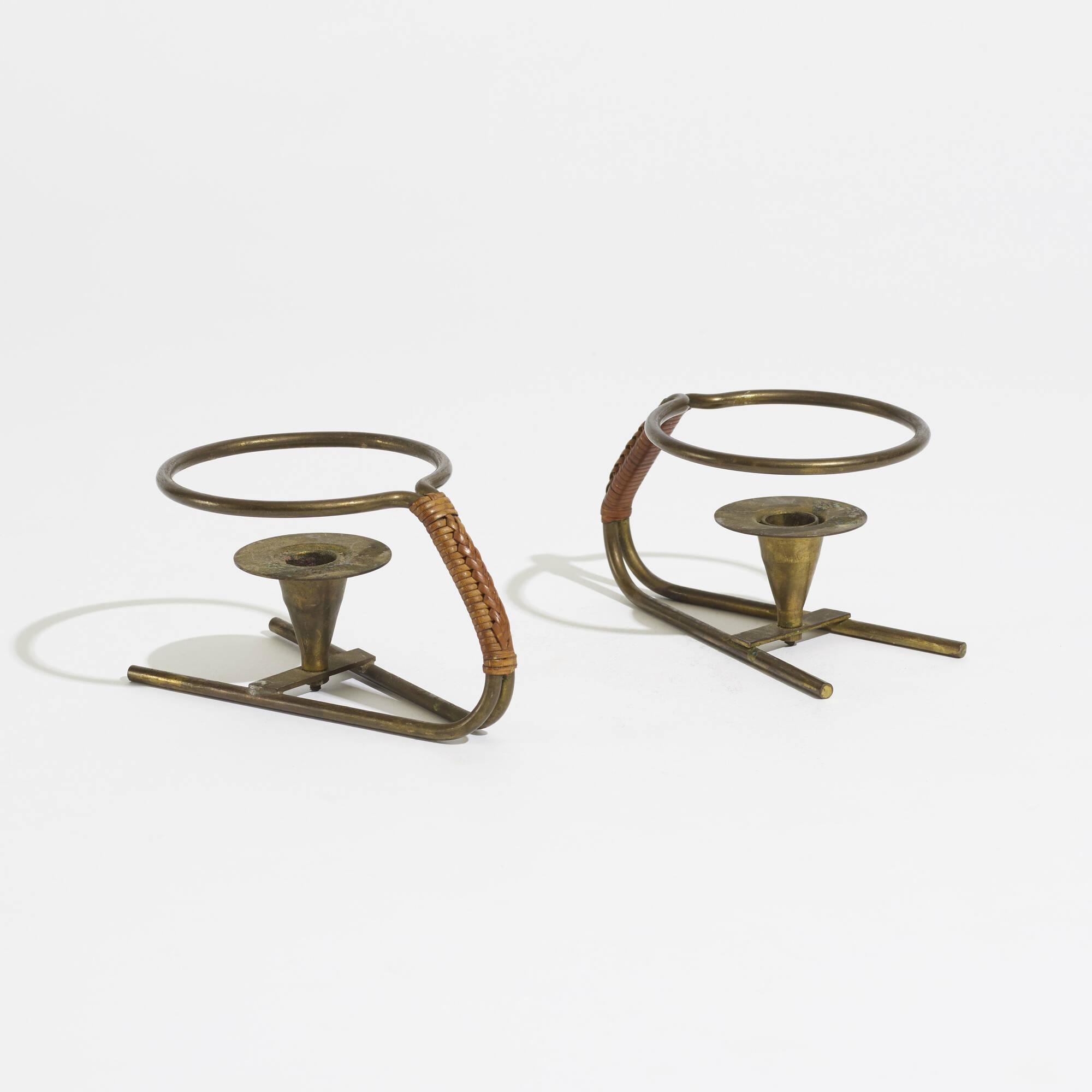 153: Carl Auböck II / rare candlesticks (2 of 2)
