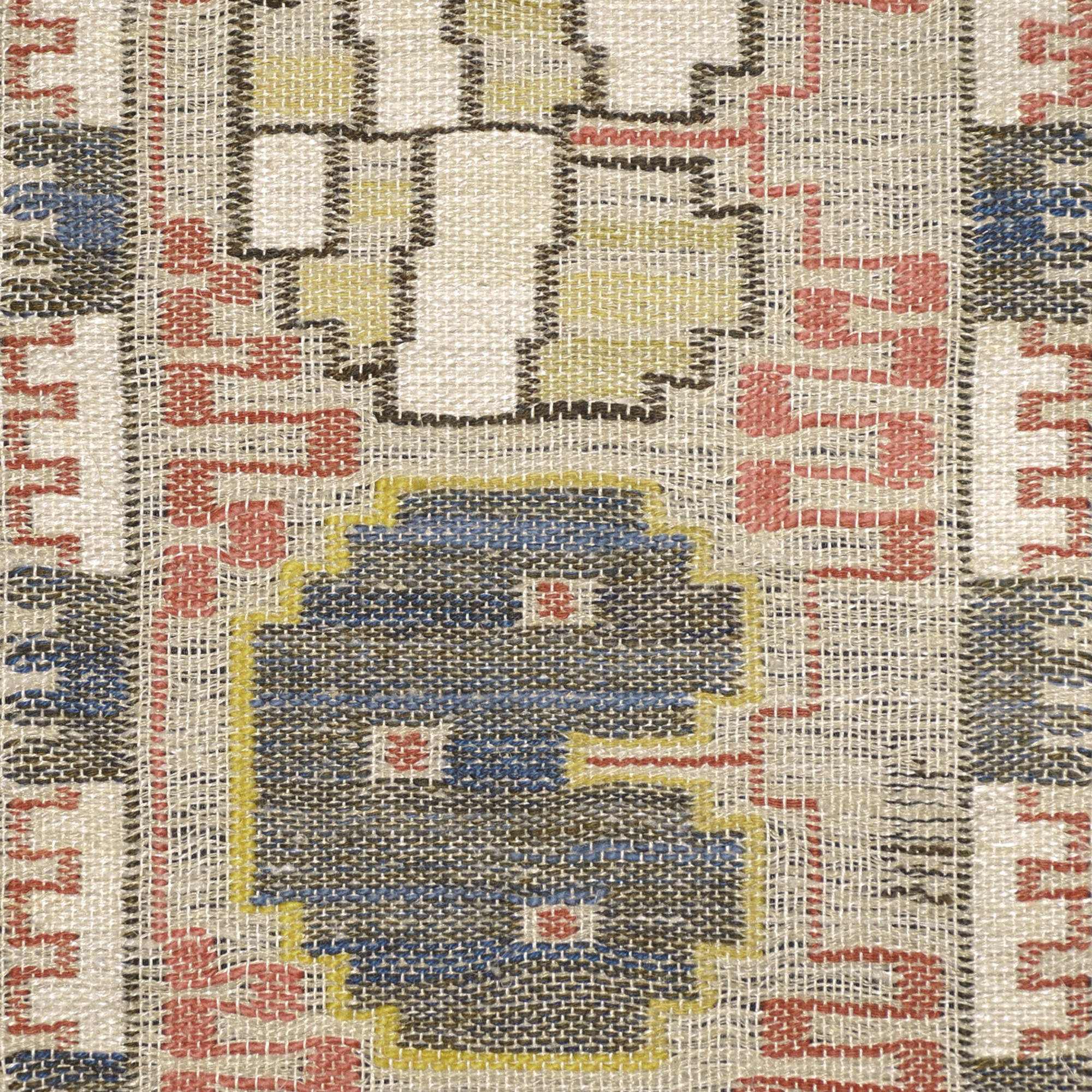 153: Märta Måås-Fjetterström / Grodblad tapestry weave pillow case (2 of 2)