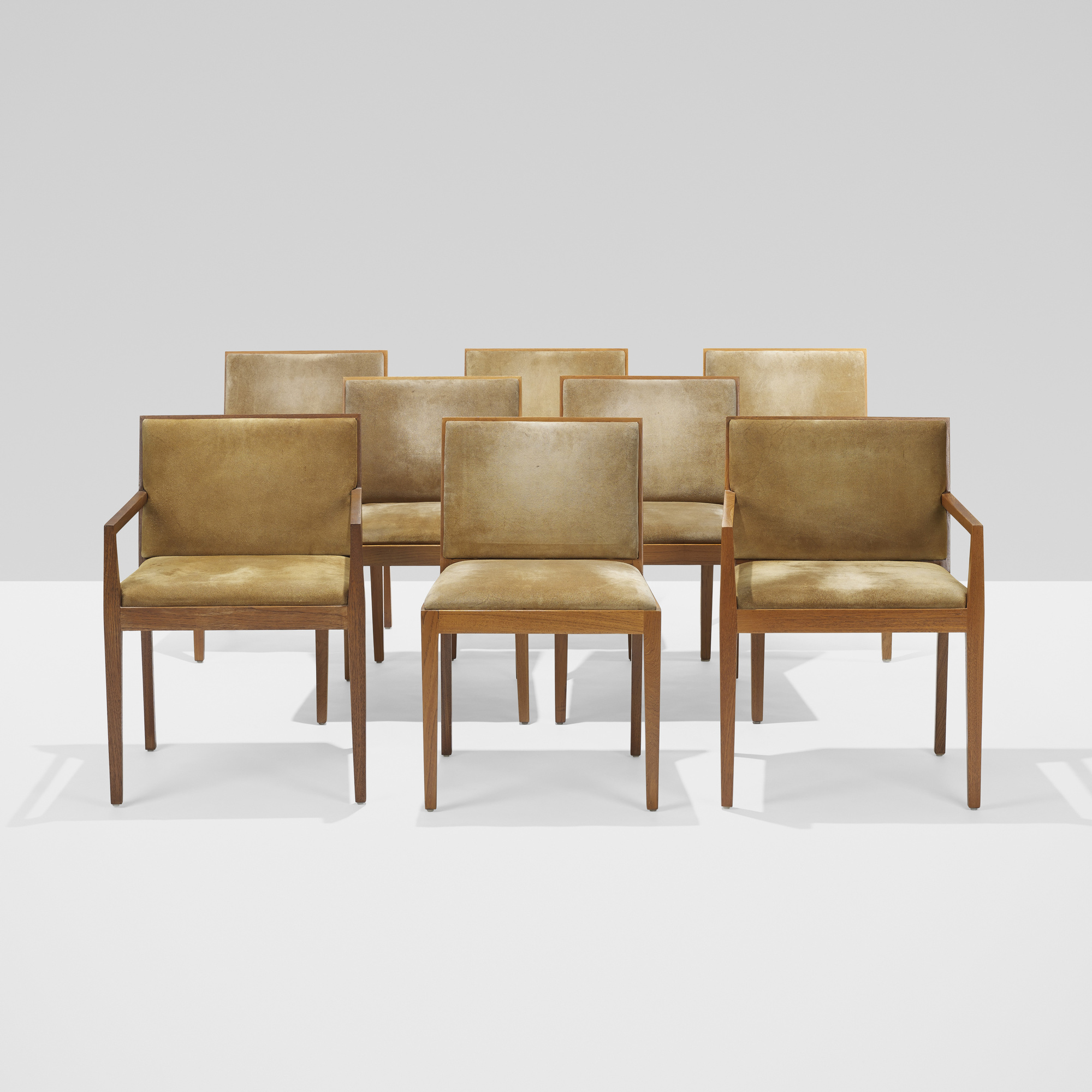 154: Ludwig Mies van der Rohe / set of eight dining chairs from 860 Lake Shore Drive, Chicago (1 of 6)