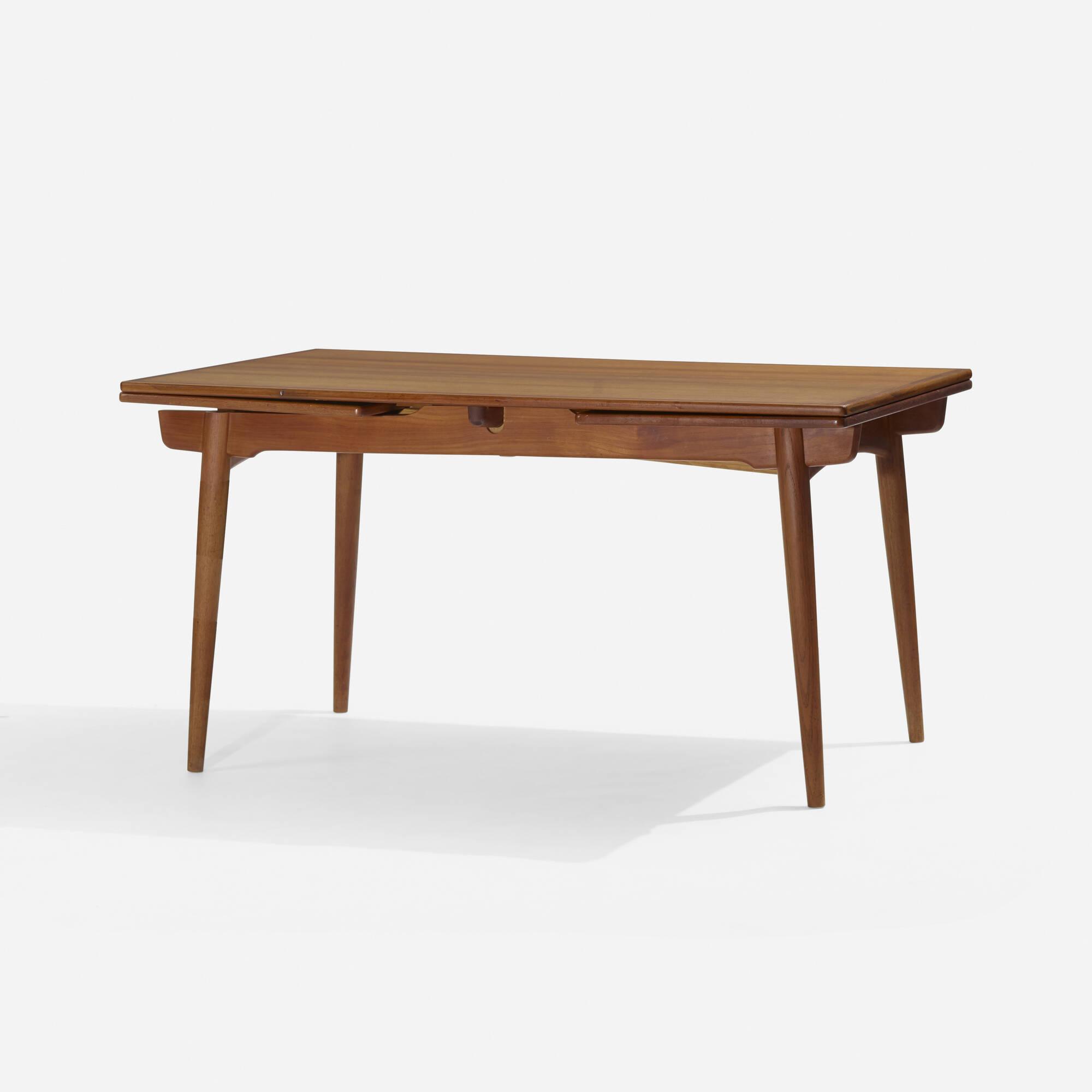 154: Hans J. Wegner / dining table, model AT312 (1 of 3)