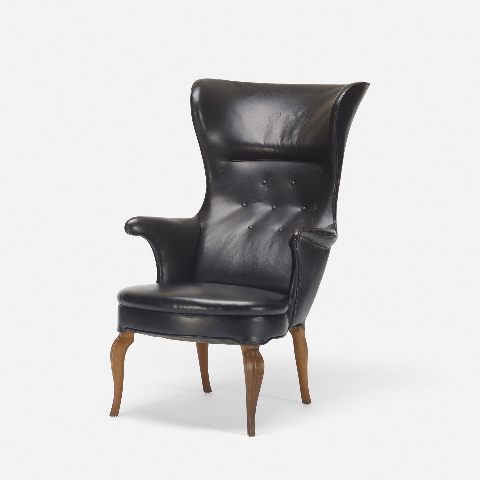 154: Frits Henningsen / Wingback armchair (2 of 3)