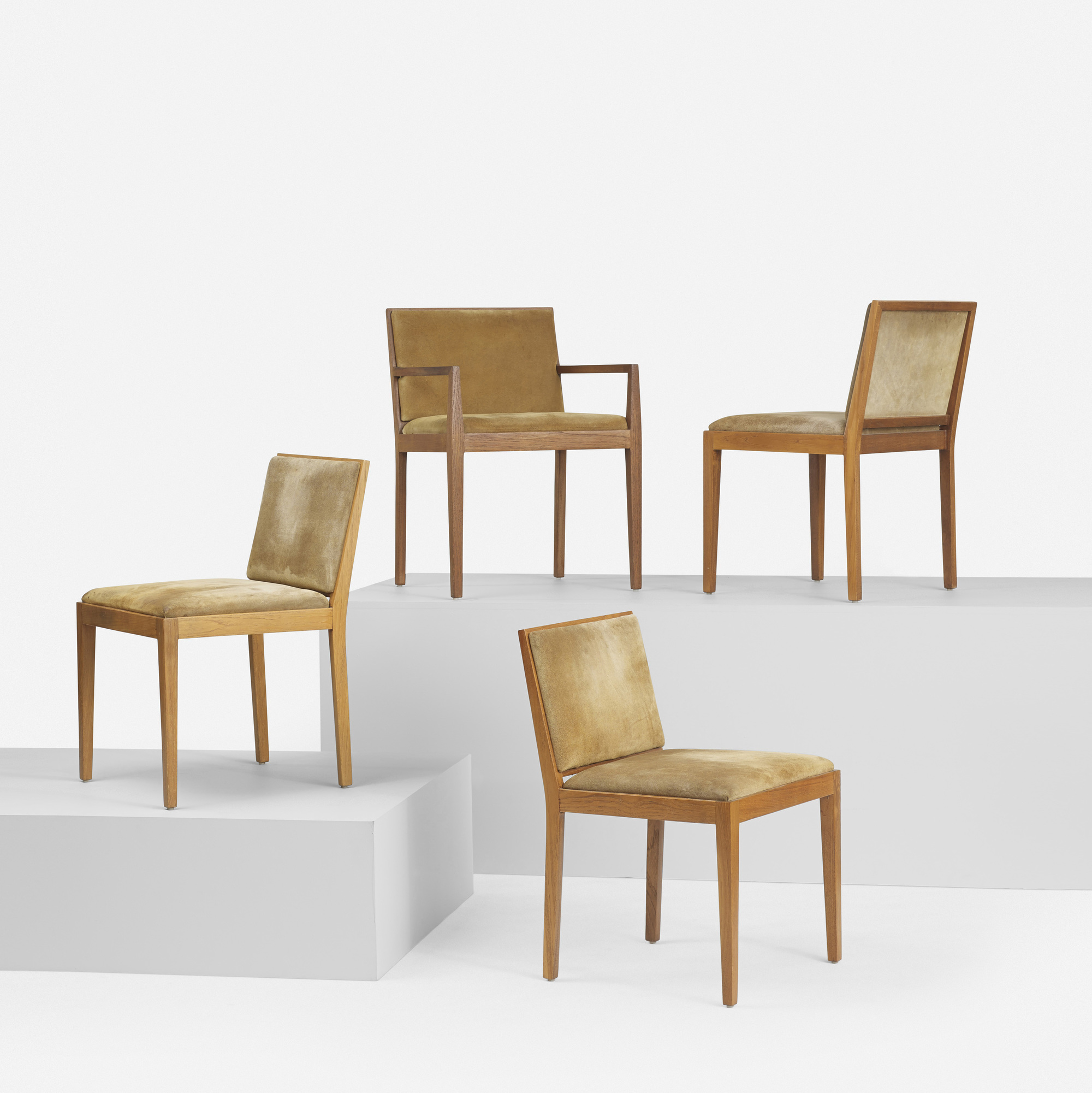 154: Ludwig Mies van der Rohe / set of eight dining chairs from 860 Lake Shore Drive, Chicago (2 of 6)