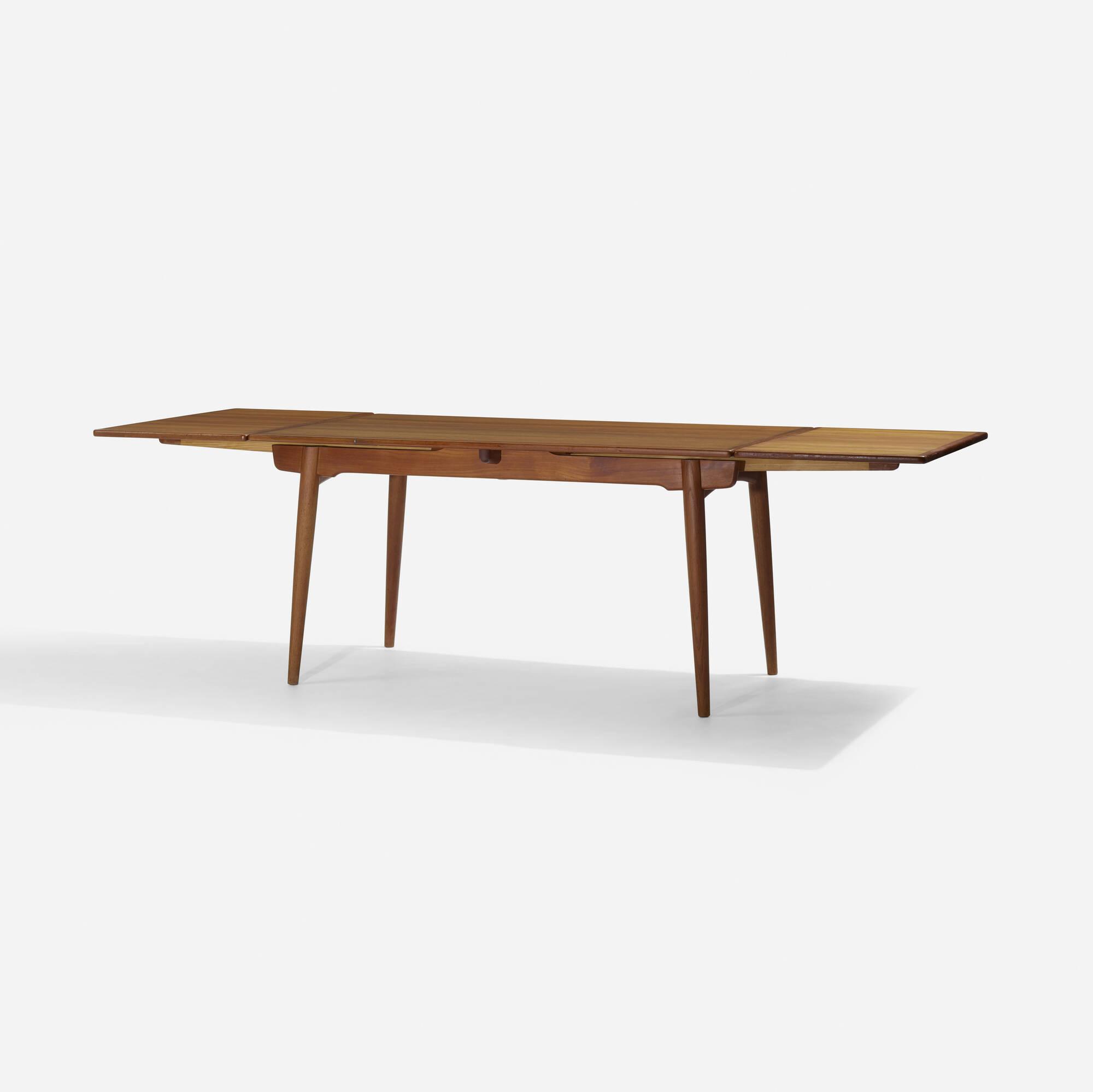 154: Hans J. Wegner / dining table, model AT312 (2 of 3)