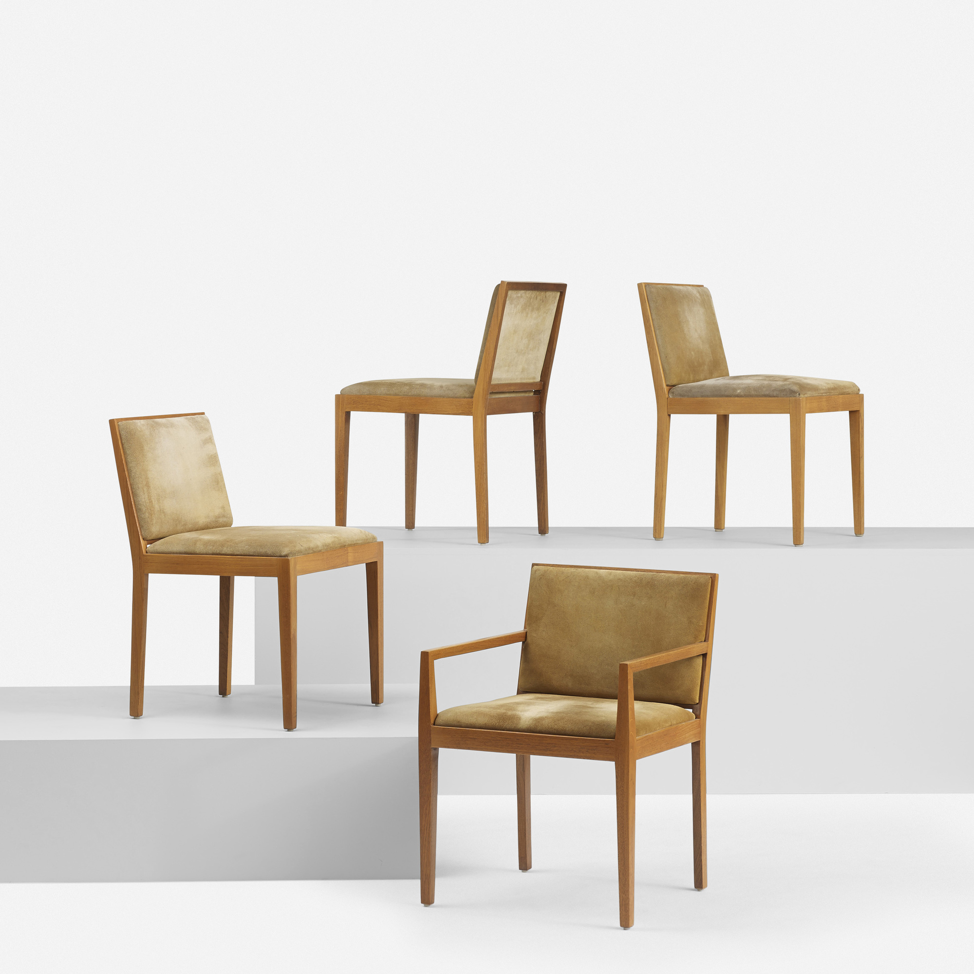 154: Ludwig Mies van der Rohe / set of eight dining chairs from 860 Lake Shore Drive, Chicago (3 of 6)