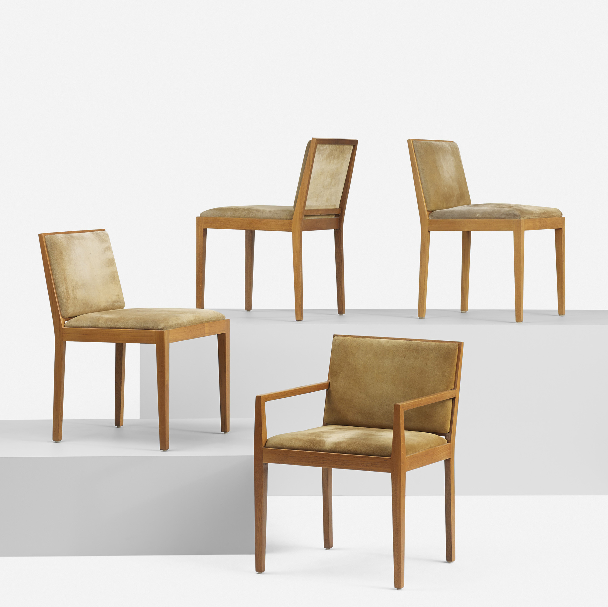 154: Ludwig Mies van der Rohe / set of eight dining chairs from 860 Lake Shore Drive, Chicago (6 of 6)
