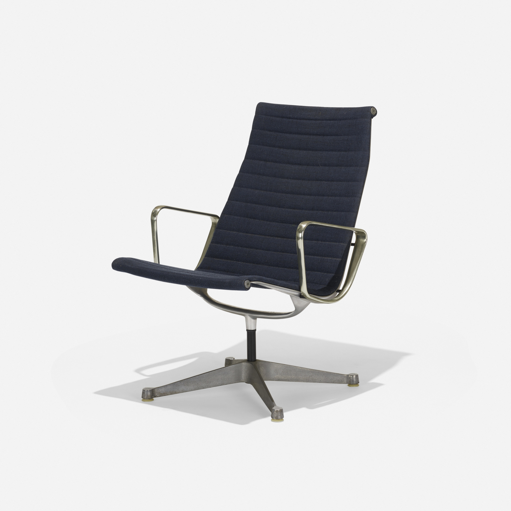 155 Charles And Ray Eames Aluminum Group Lounge Chair American