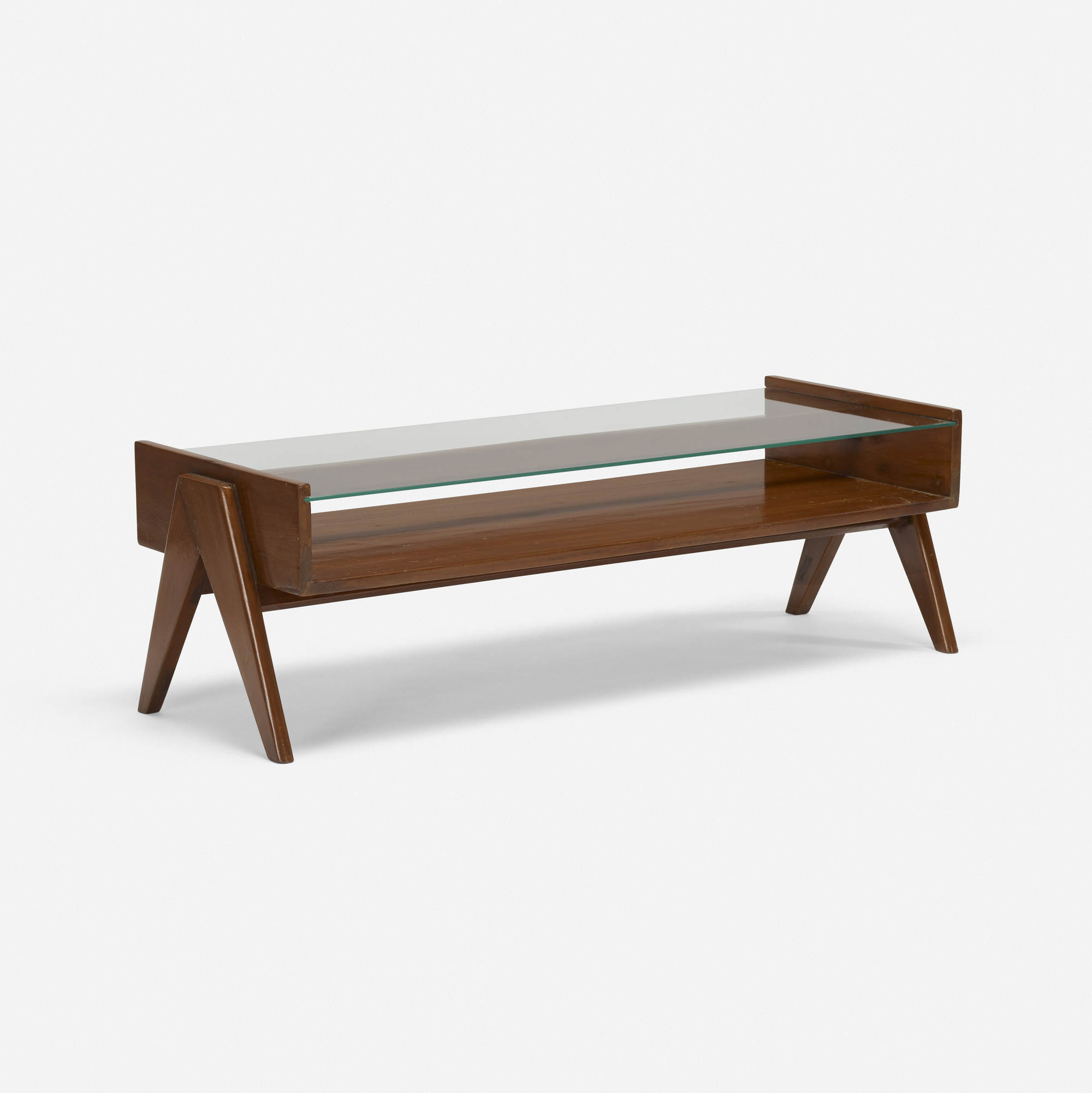 156 PIERRE JEANNERET coffee table from Chandigarh Design 23