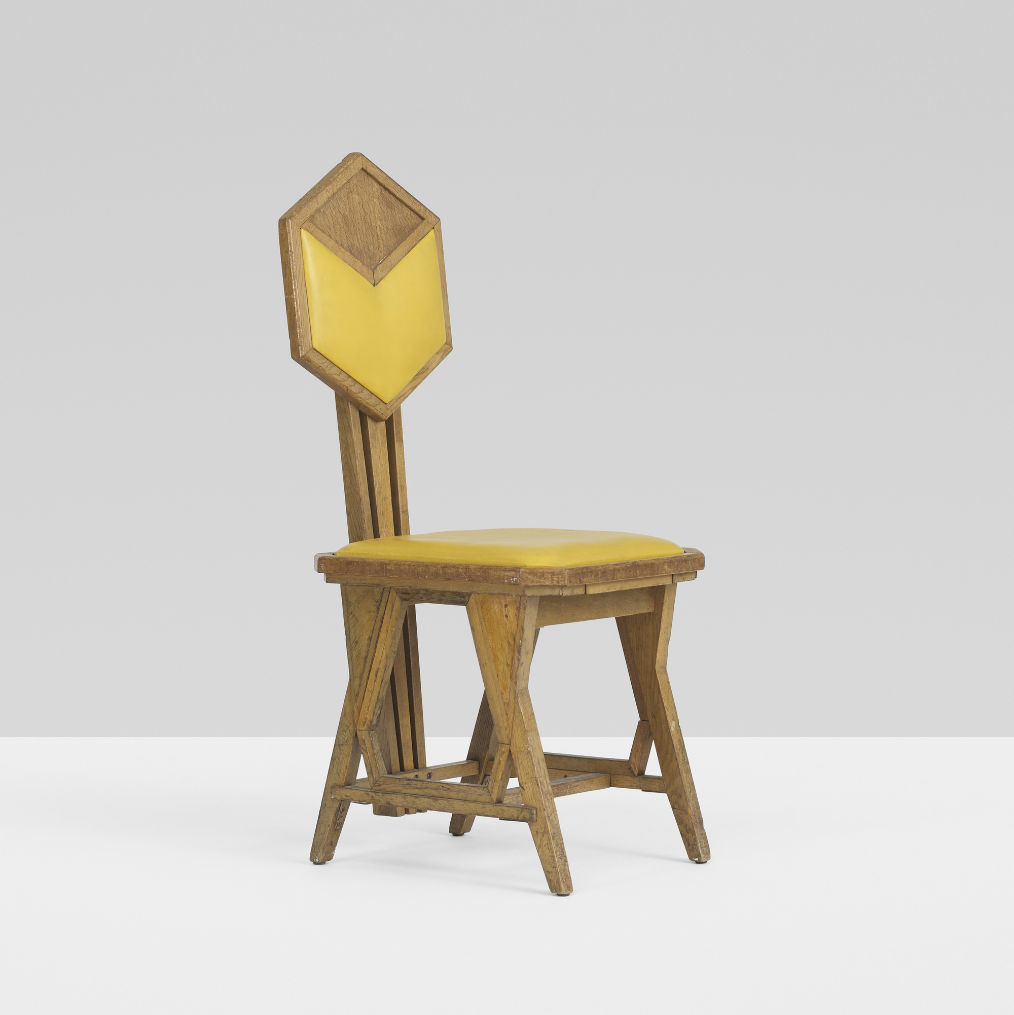 156 frank lloyd wright chair from the imperial hotel tokyo for Chair design 2000