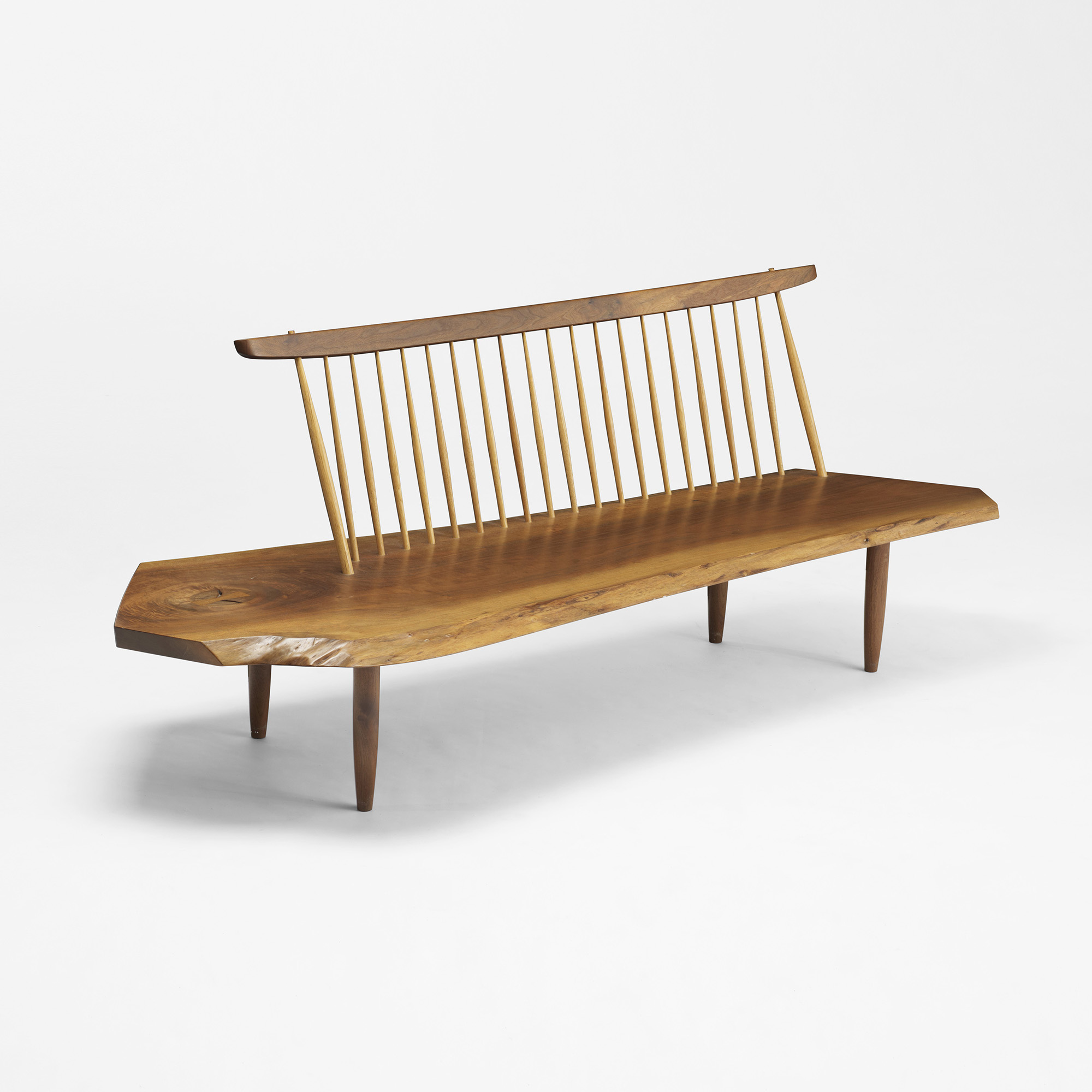 Modern Home Design October 2012: 156: GEORGE NAKASHIMA, Conoid Bench