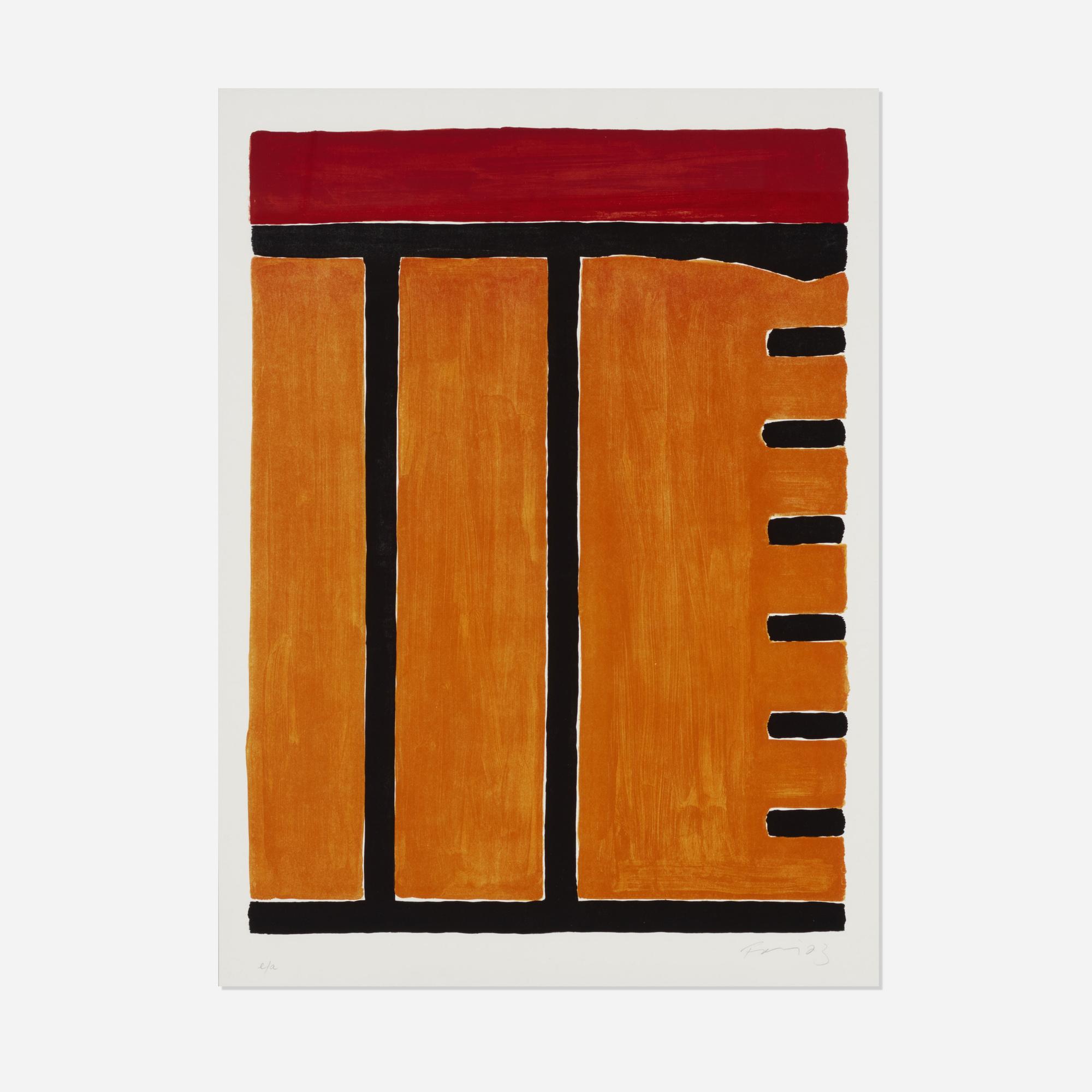 156: Günther Förg / Untitled (1 of 1)